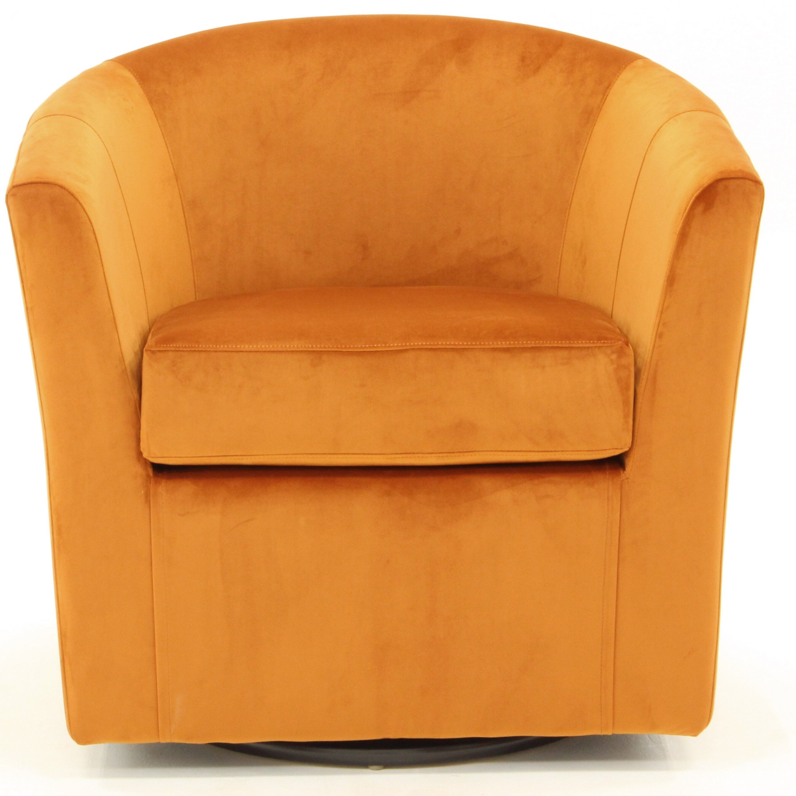 Orange Velvet Accent Chairs You'Ll Love In 2021 | Wayfair Inside Dorcaster Barrel Chairs (View 12 of 15)