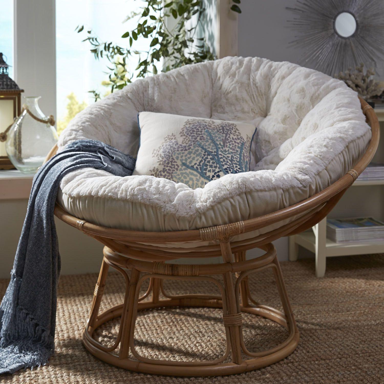 Papasan Chair Frame – Natural | Papasan Chair Frame, Papasan With Orndorff Tufted Papasan Chairs (View 3 of 15)