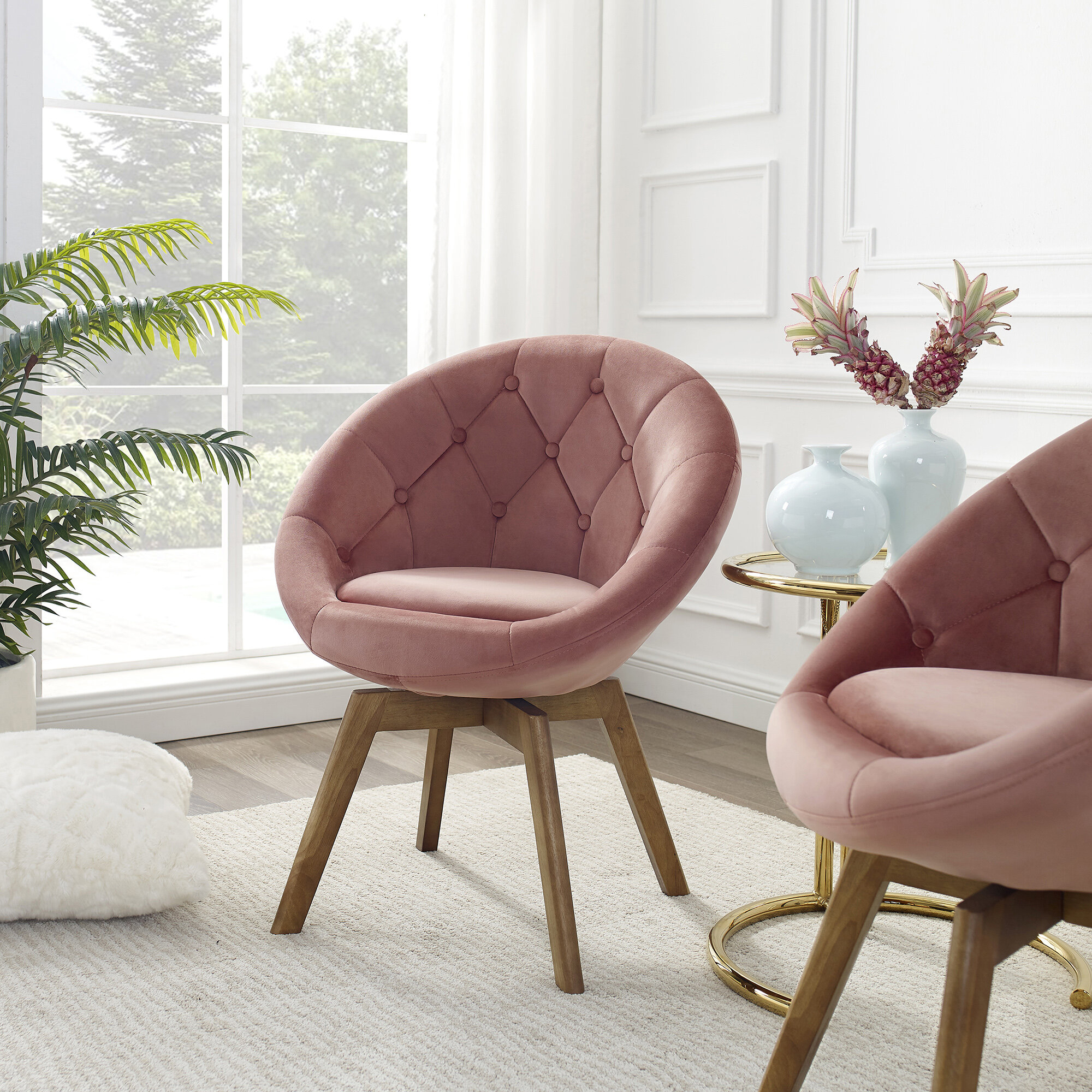 Papasan Chairs | Wayfair (View 6 of 15)