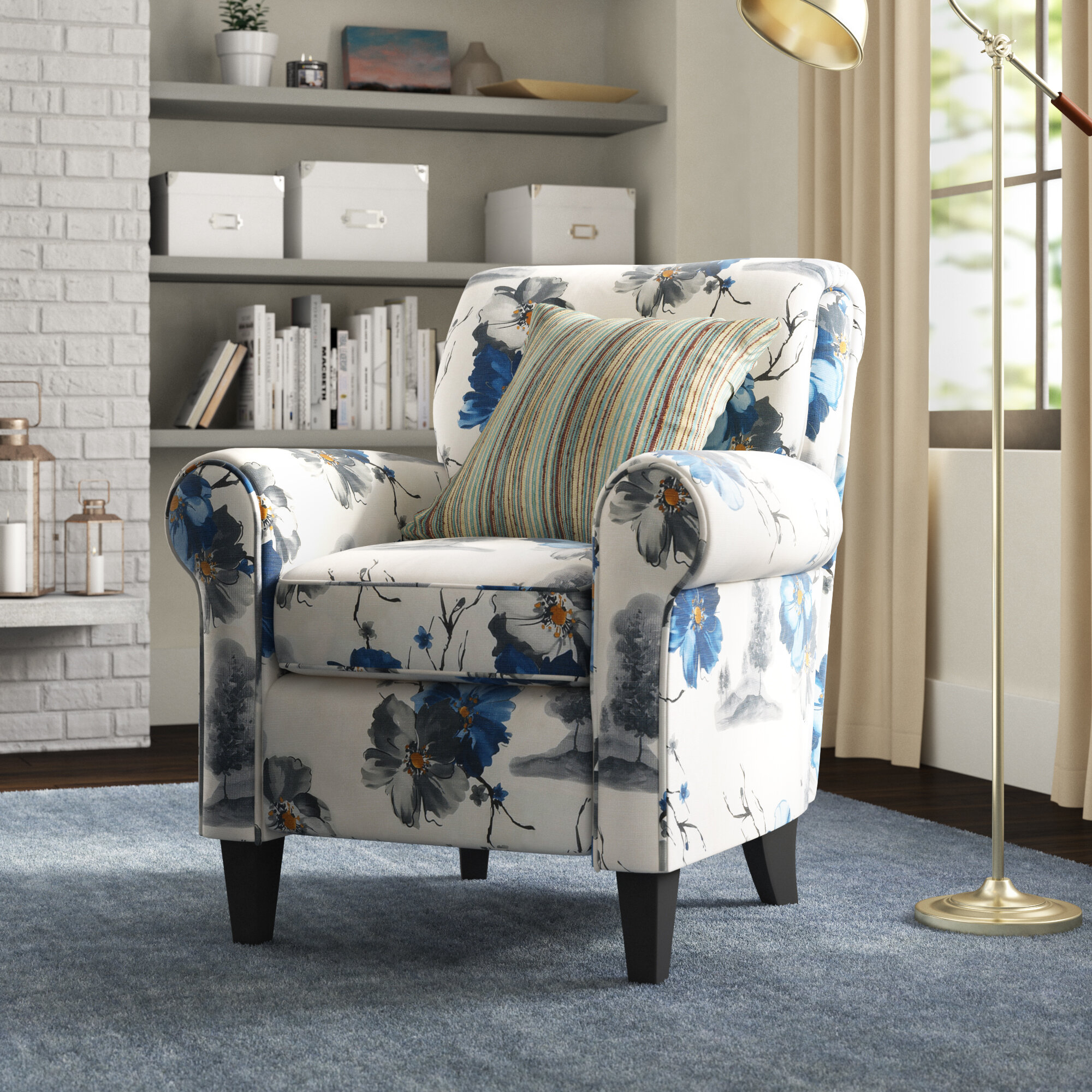 """Parkins 20"""" Armchair With Autenberg Armchairs (View 3 of 15)"""
