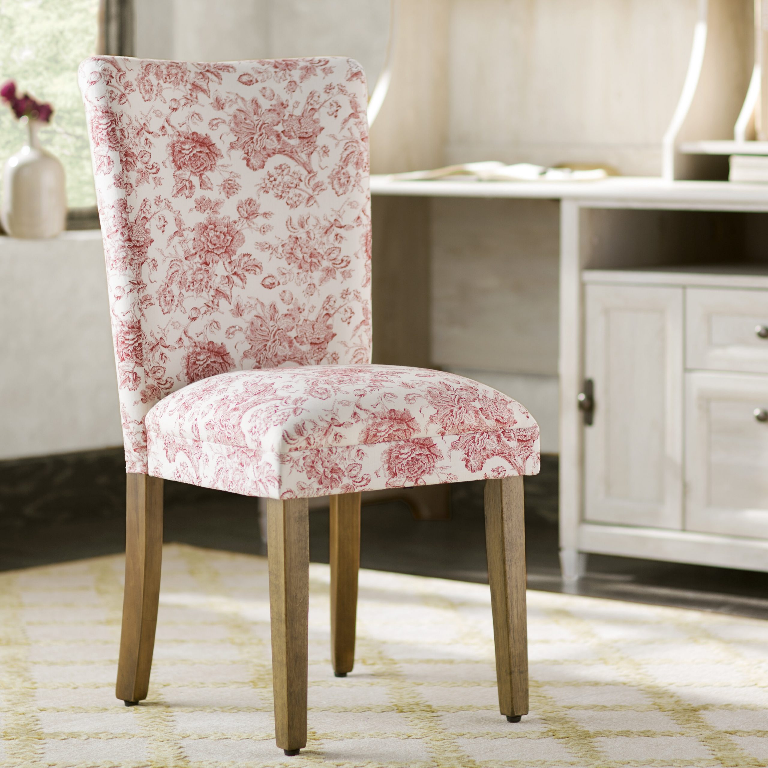 Parsons Accent Chairs You'Ll Love In 2021 | Wayfair Regarding Aime Upholstered Parsons Chairs In Beige (View 4 of 15)