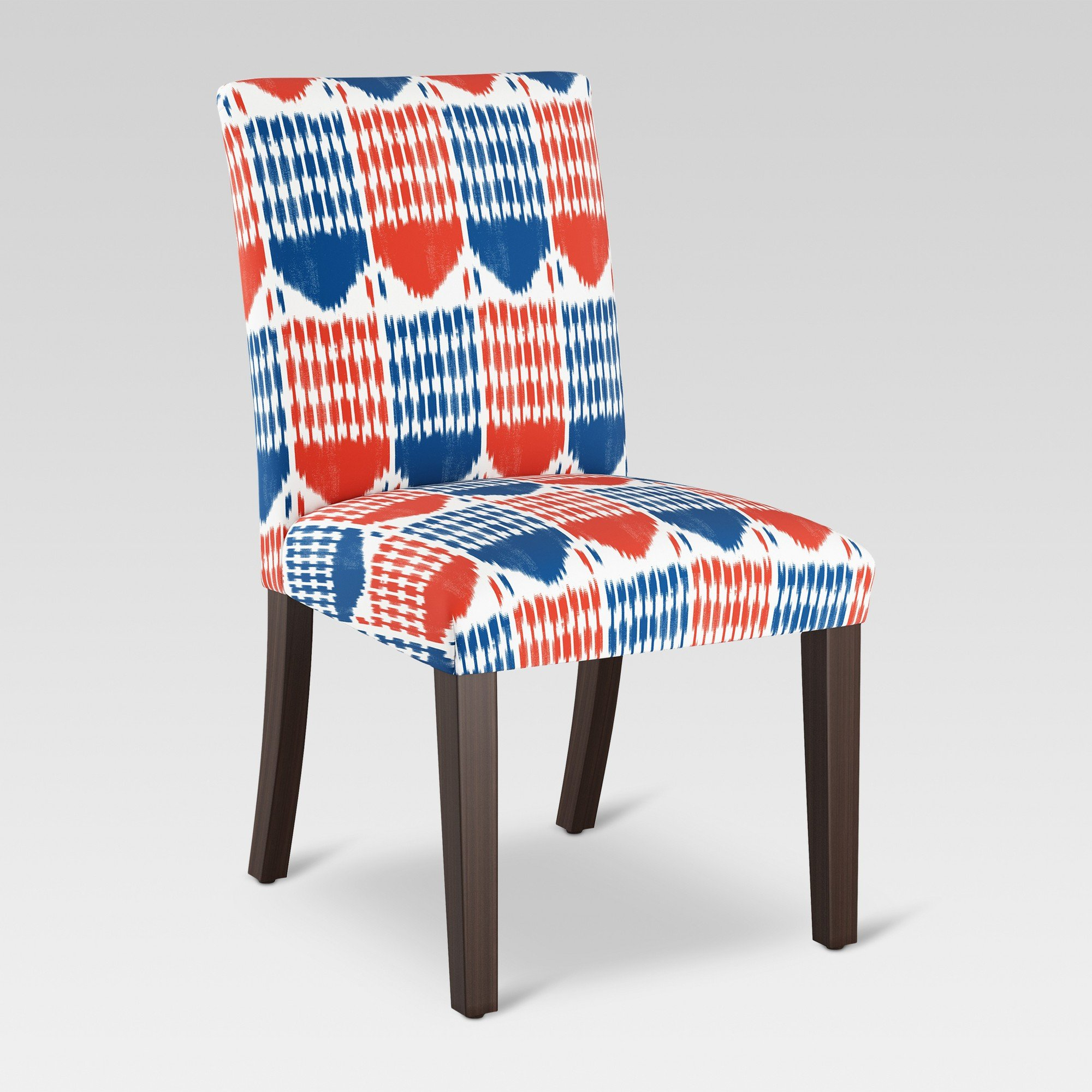 Parsons Dining Chair Ikat Blue/Red – Threshold – Target For Daleyza Slipper Chairs (View 14 of 15)