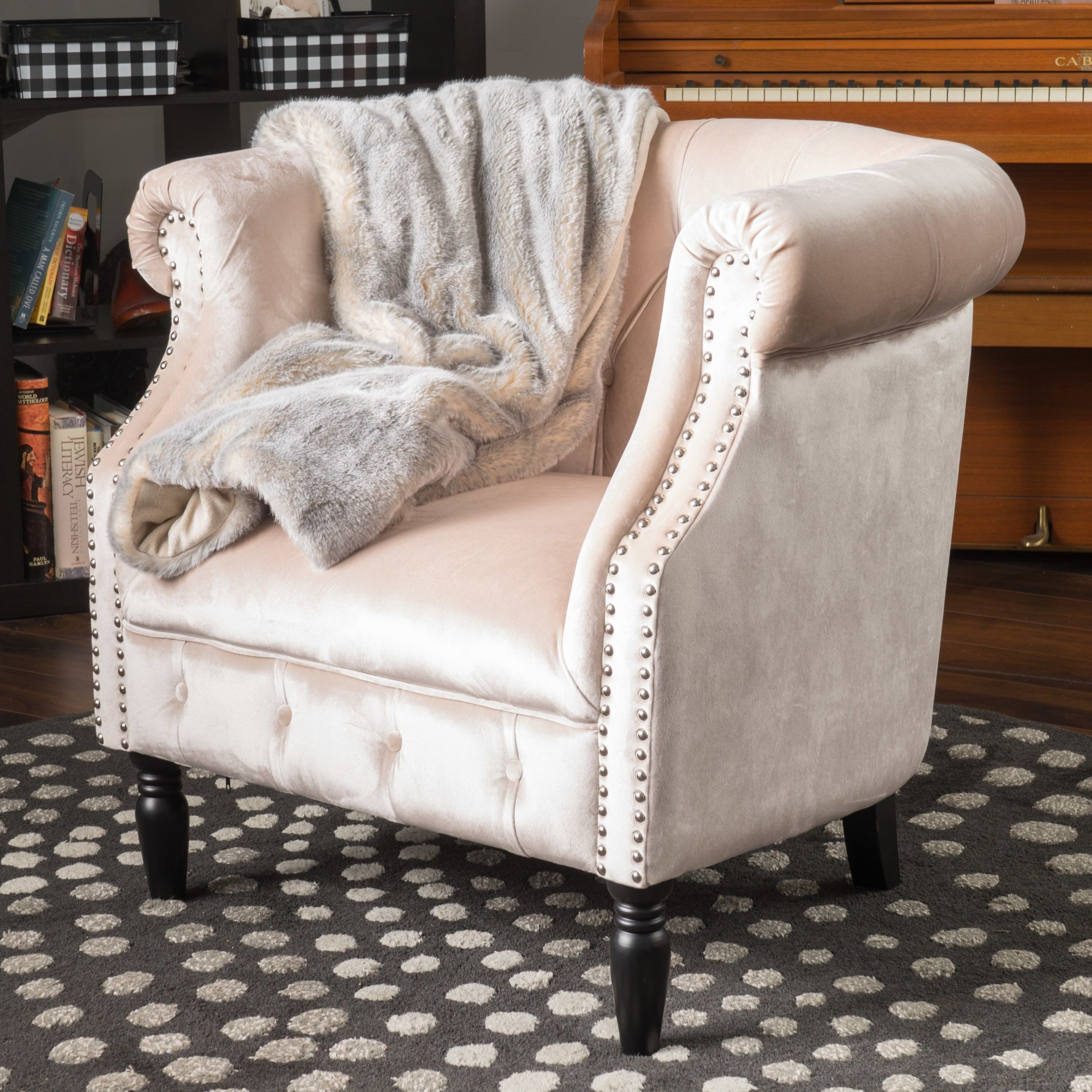 Pin On Chairs With Regard To Maubara Tufted Wingback Chairs (View 10 of 15)