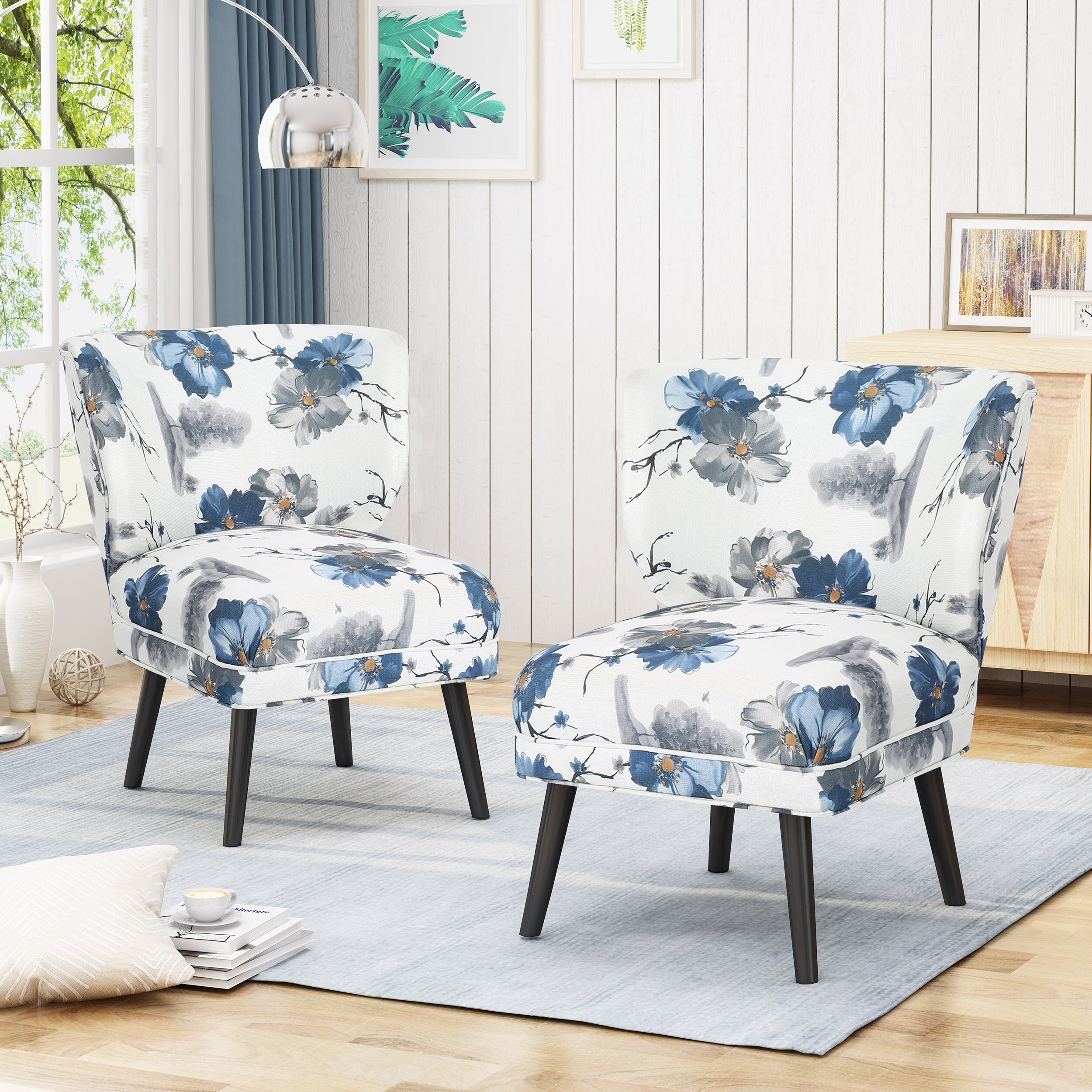 Plaid Accent Chairs You'Ll Love In 2021 | Wayfair With Bethine Polyester Armchairs (Set Of 2) (View 15 of 15)