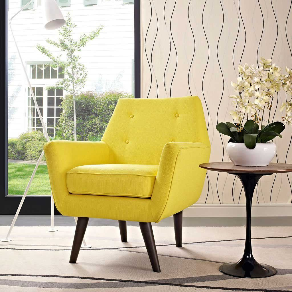 Posterity Armchair Sunny | Fabric Armchairs, Armchair For Louisburg Armchairs (View 7 of 15)