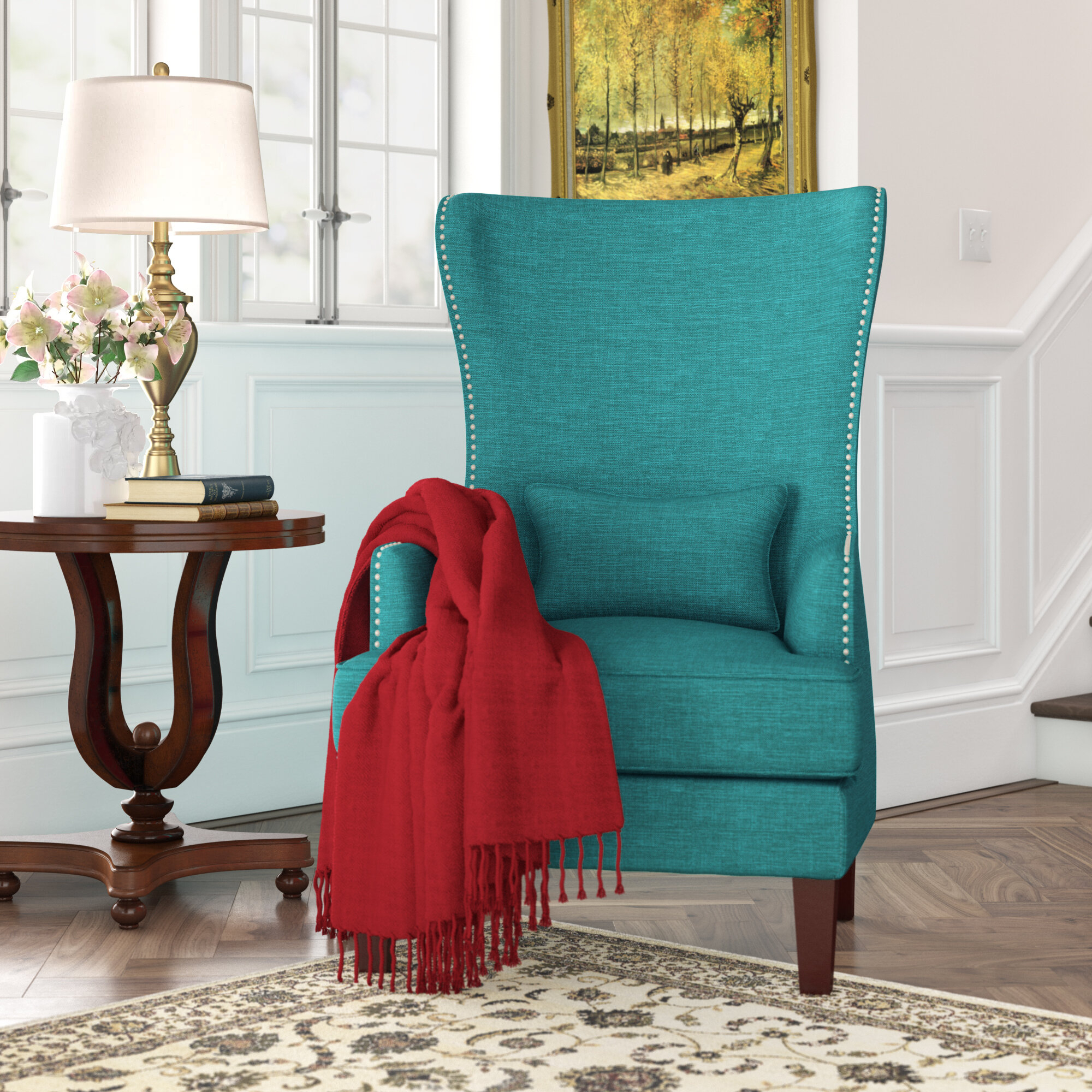 Pringle Wingback Chair With Andover Wingback Chairs (View 6 of 15)