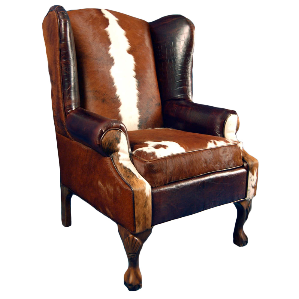 Railroadsman'S Wing Back Chair Within Sweetwater Wingback Chairs (View 3 of 15)