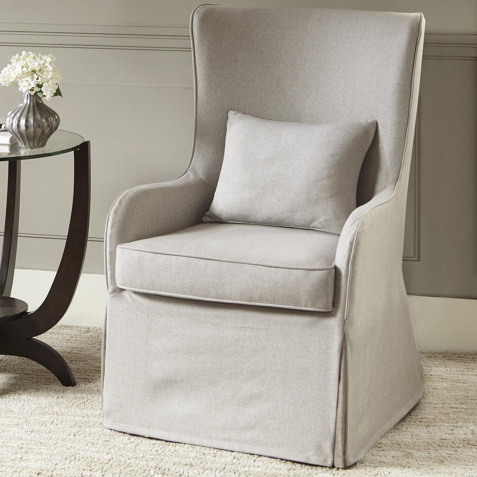 Regis Wingback Chair Regarding Lauretta Velvet Wingback Chairs (View 12 of 15)