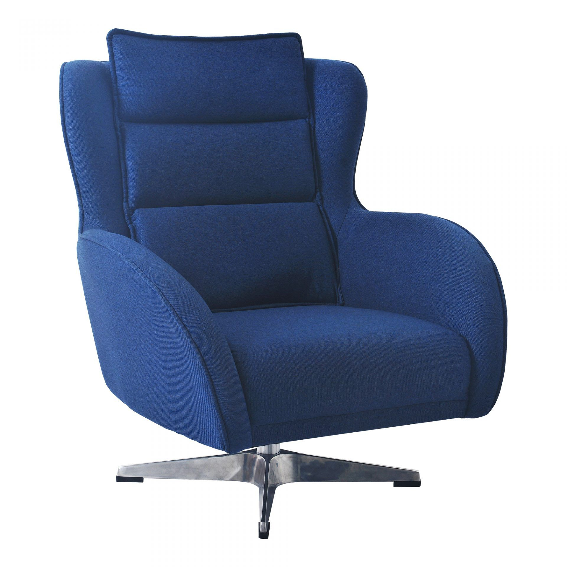 """Revolve Swivel Chair Blue 30""""W X 34""""D X 35""""H