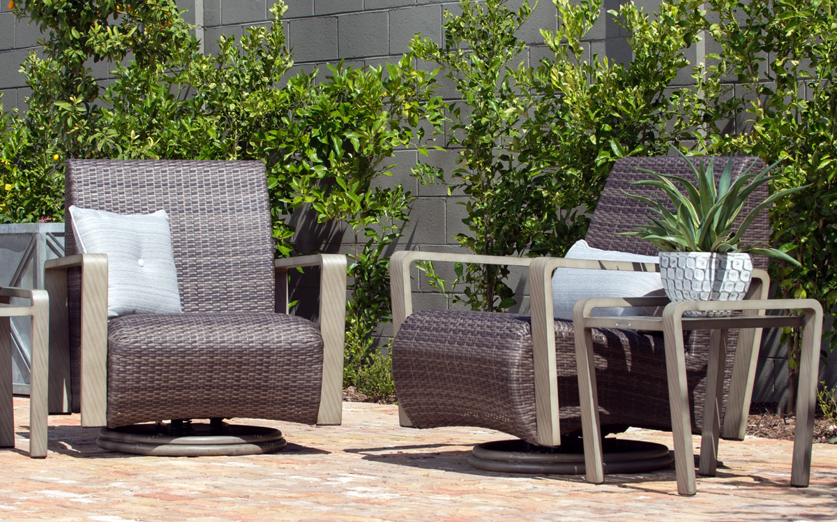 Reynolds | Woodard Furniture Inside Reynolds Armchairs (View 7 of 15)