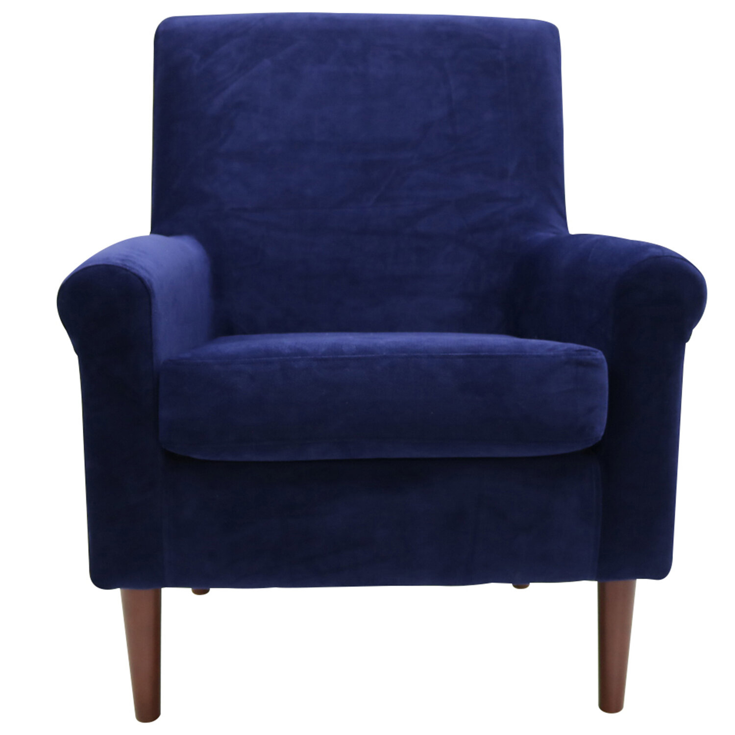 Ronald Armchair Inside Ronald Polyester Blend Armchairs (View 4 of 15)