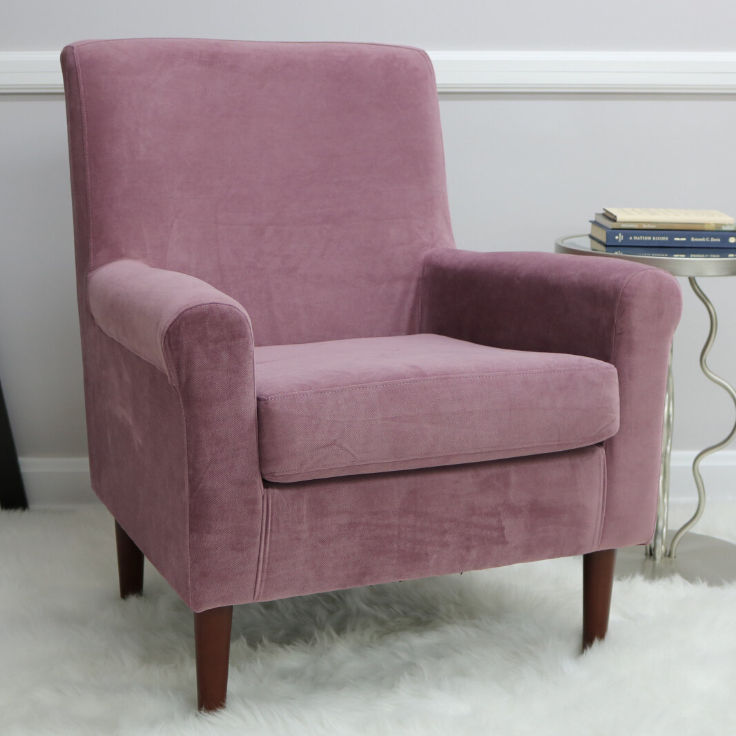 Ronald Armchair With Regard To Ronald Polyester Blend Armchairs (View 13 of 15)