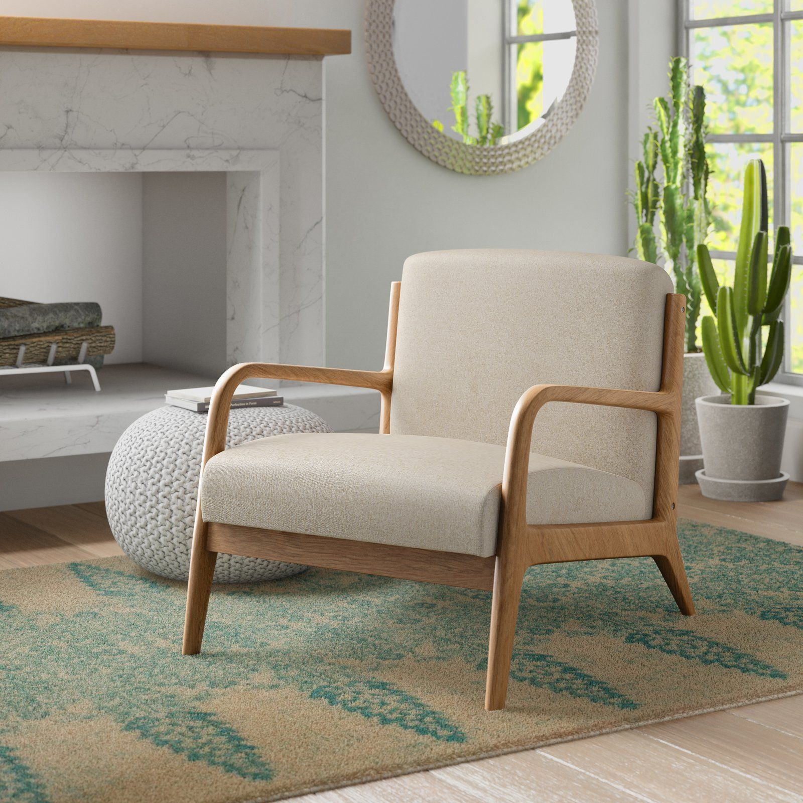 Ronaldo Armchair | Furniture, Modern Furniture Living Room Intended For Ronaldo Polyester Armchairs (View 3 of 15)