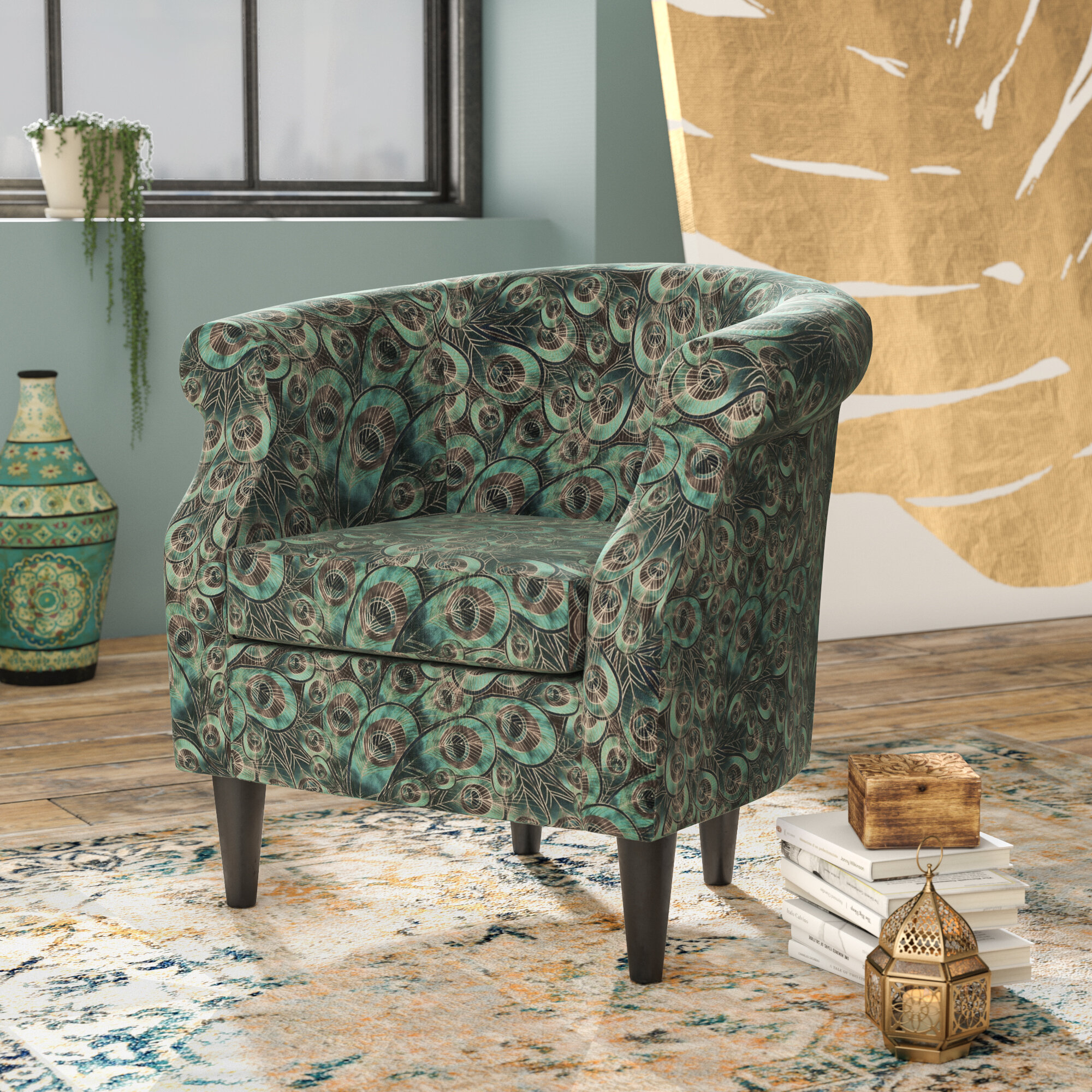 Ronda Barrel Chair With Regard To Ronda Barrel Chairs (View 5 of 15)