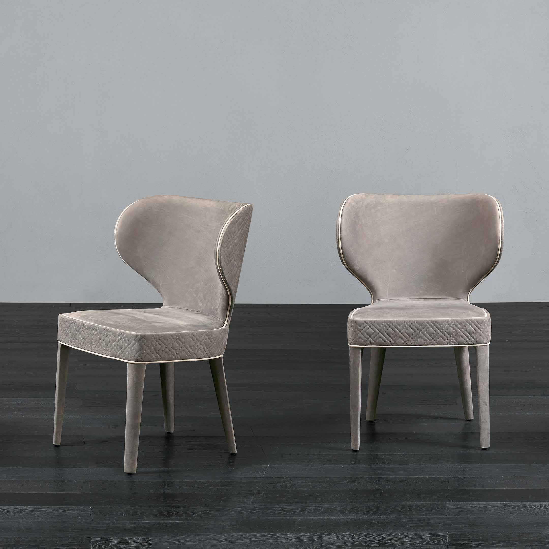 Rugiano In 2020 | Luxury Furniture, Furniture, Dining Chairs Throughout Aime Upholstered Parsons Chairs In Beige (View 10 of 15)