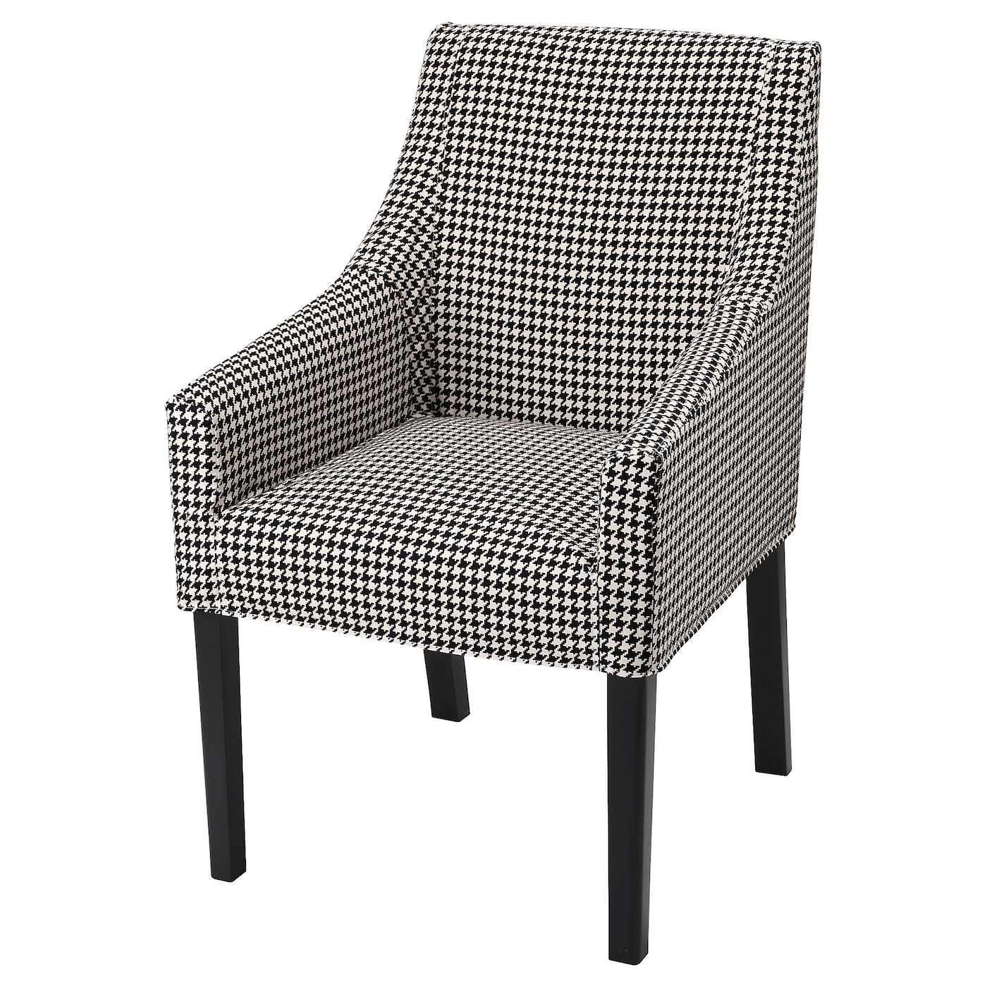 Sakarias Armchair – Black/Vibberbo Inside Hanner Polyester Armchairs (View 9 of 15)