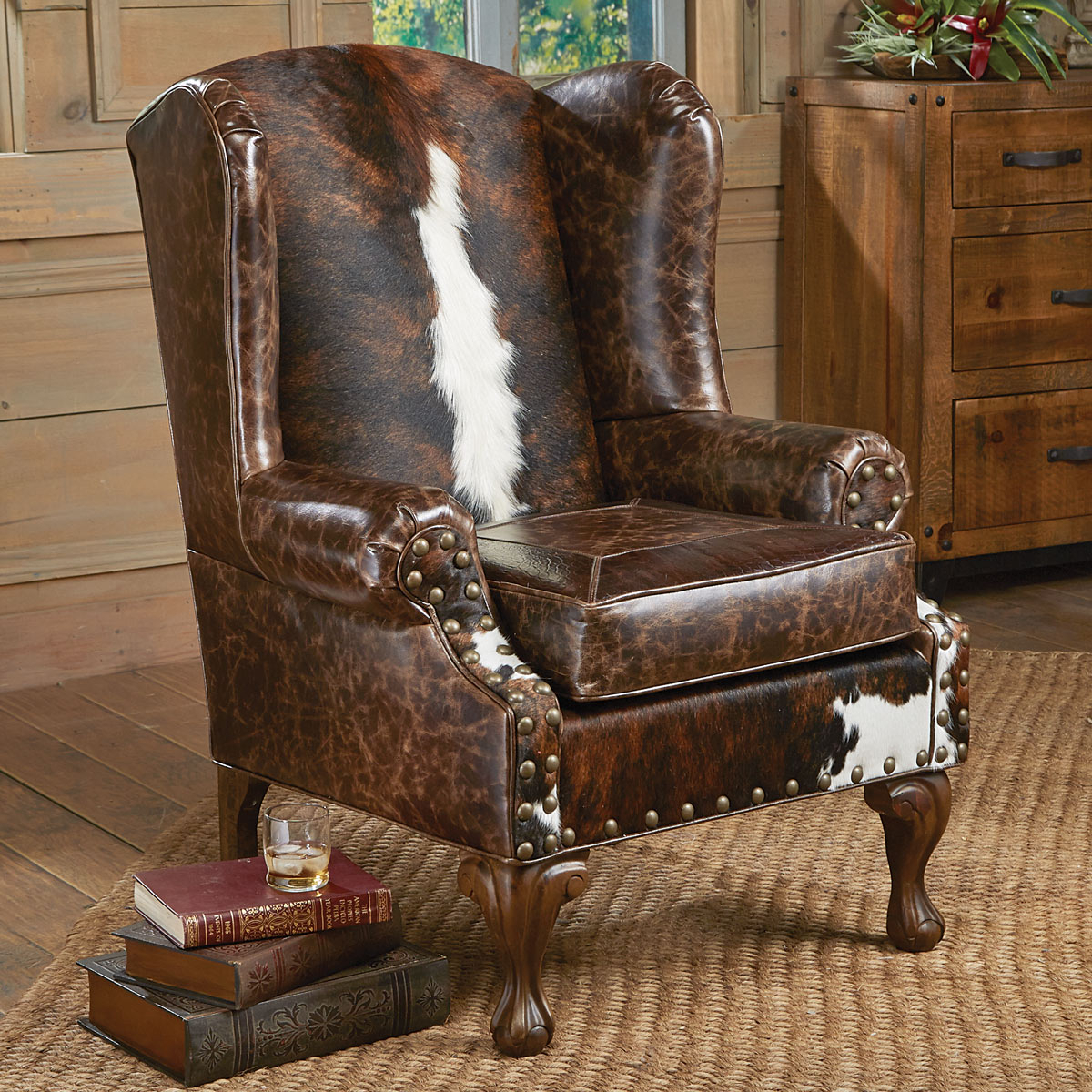 Santa Fe Wing Back Chair With Regard To Sweetwater Wingback Chairs (View 4 of 15)