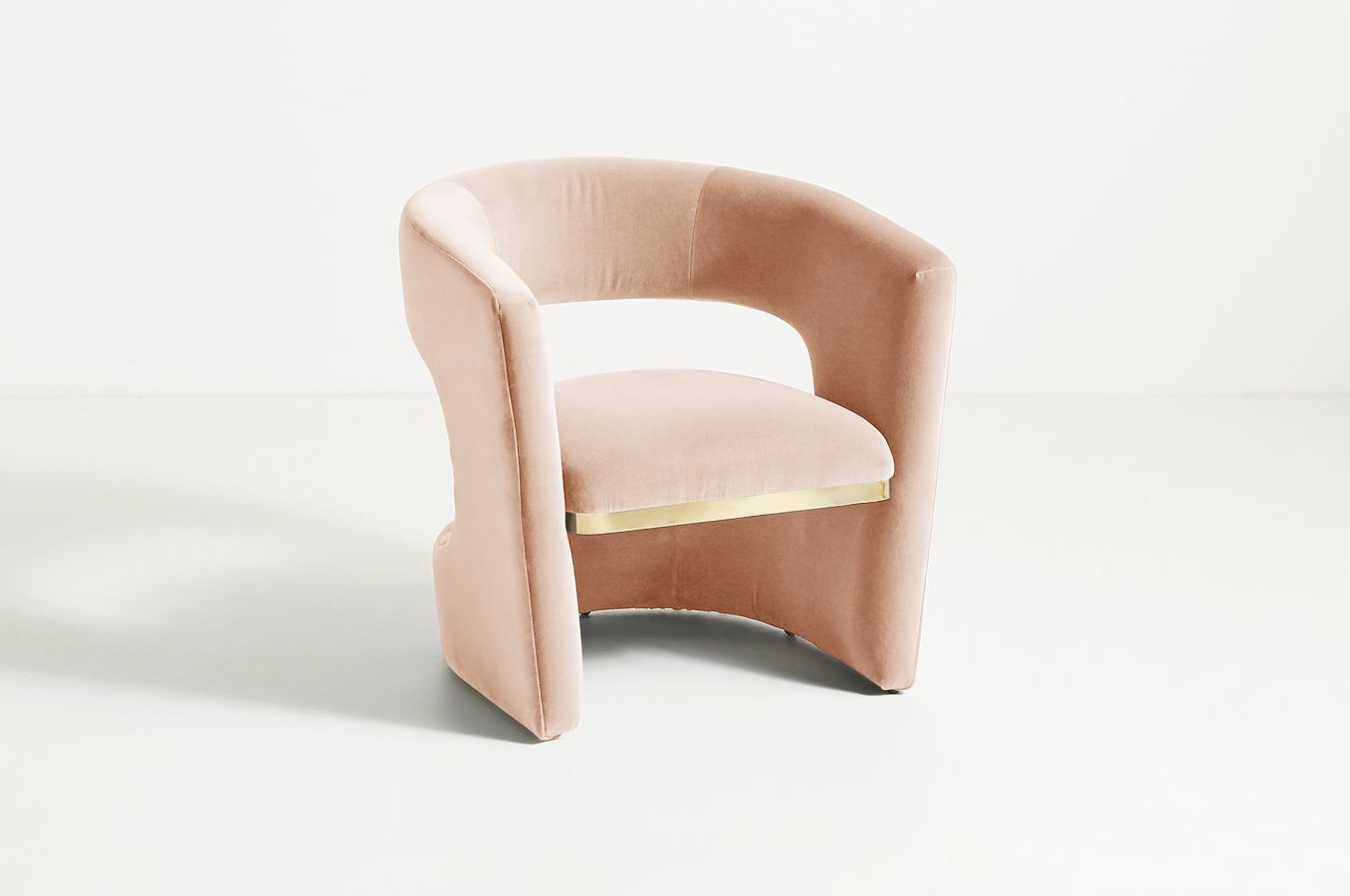 Sarrono Accent Chair In 2020 | Accent Chairs, White Leather Within Molinari Swivel Barrel Chairs (View 14 of 15)