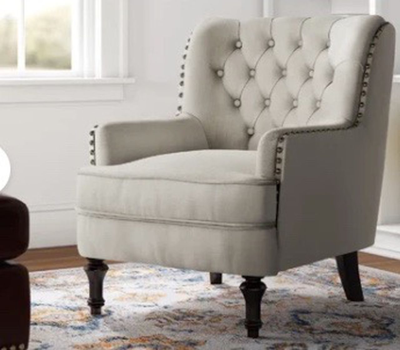 Save Up To 80% During Wayfair'S Closeout Sale On Furniture Inside Jayde Armchairs (View 11 of 15)