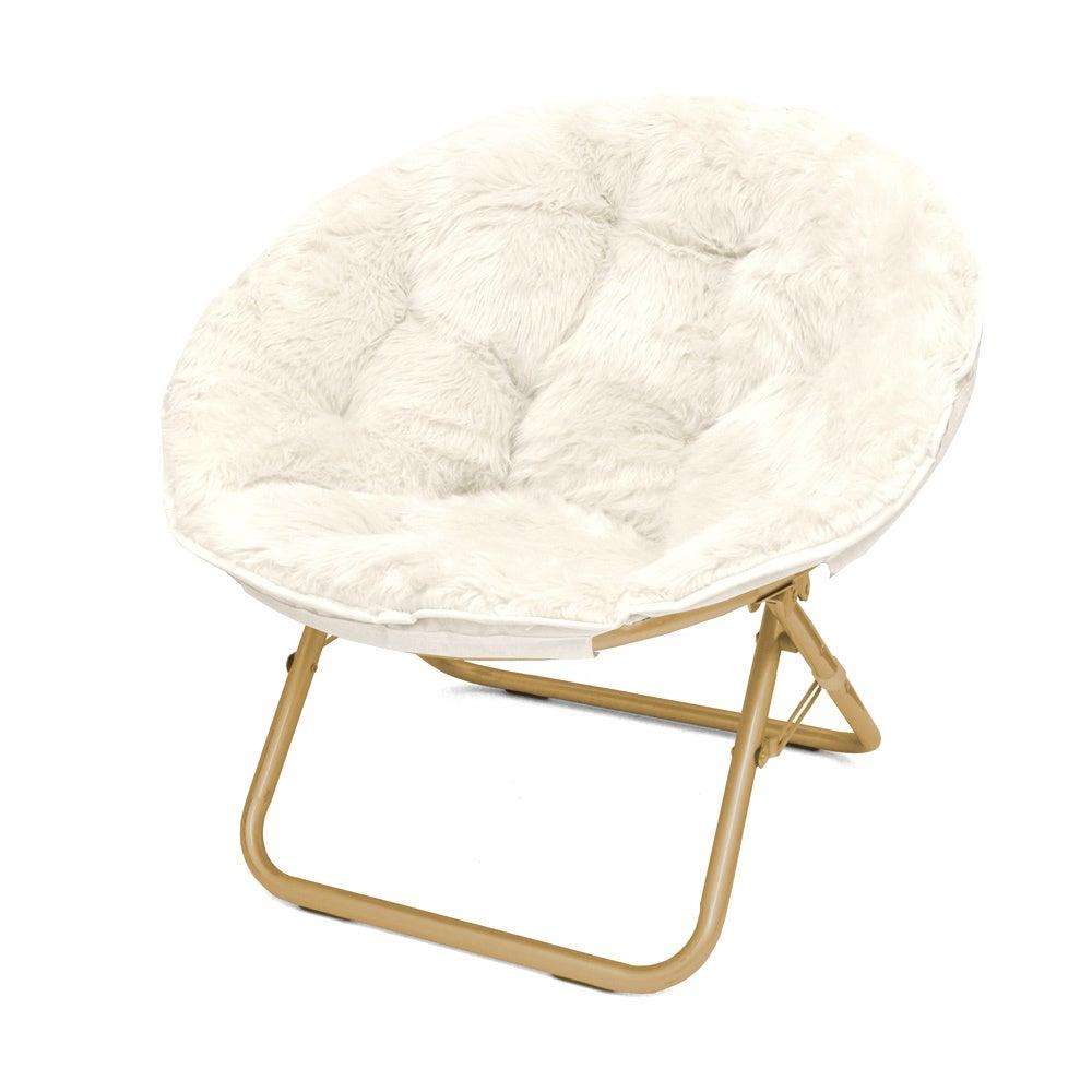 Seventeen Micromink Papasan Chair White | Ebay For Campton Papasan Chairs (View 4 of 15)