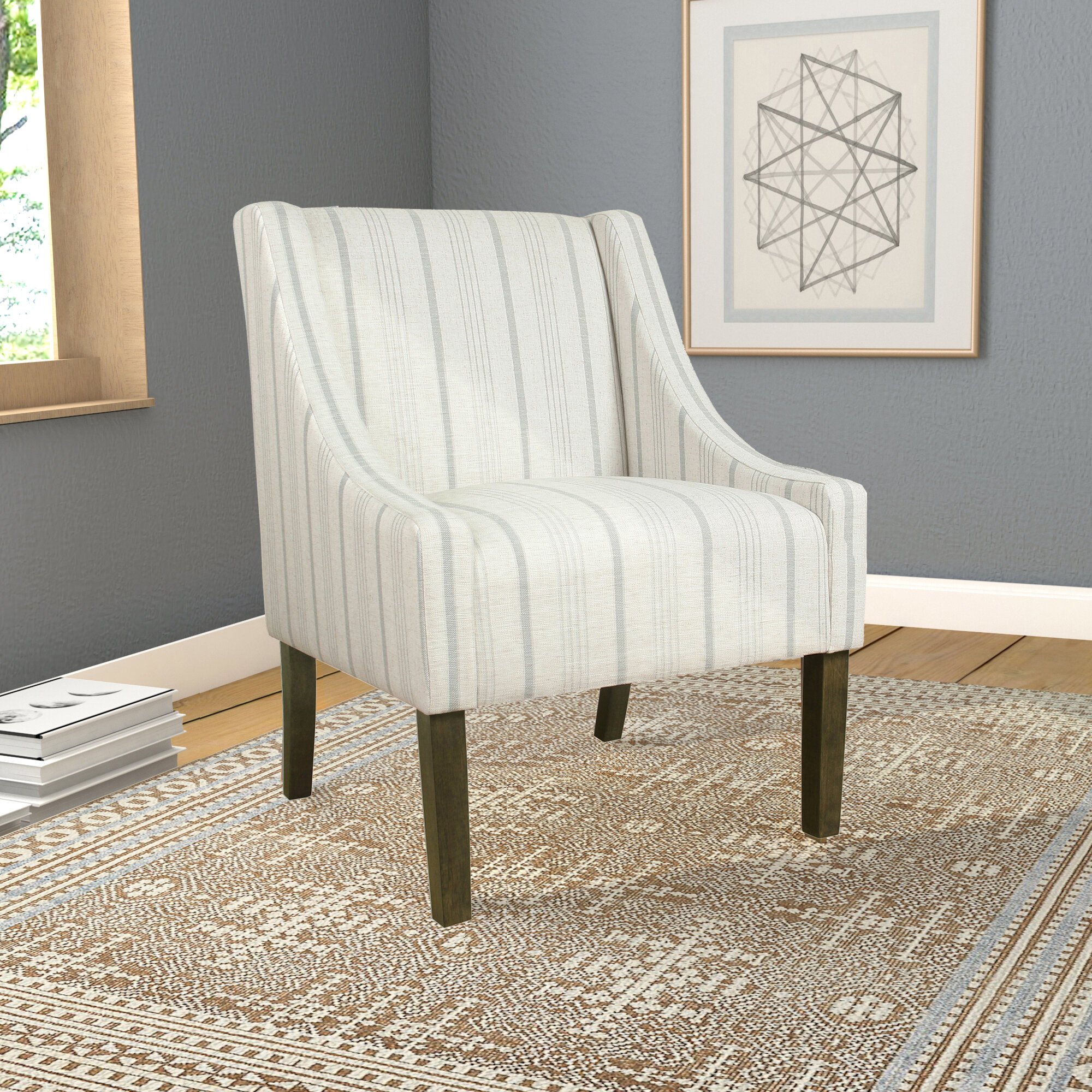 Side Accent Chairs You'Ll Love In 2021 | Wayfair In Chiles Linen Side Chairs (View 10 of 15)
