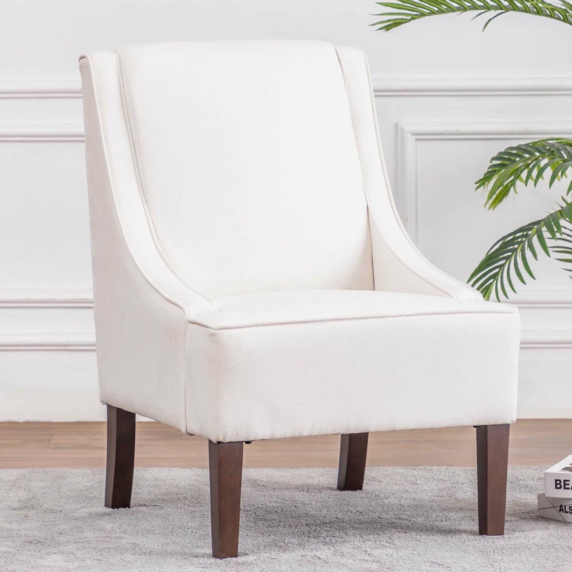 Side Accent Chairs You'Ll Love In 2021 | Wayfair With Regard To Chiles Linen Side Chairs (View 6 of 15)