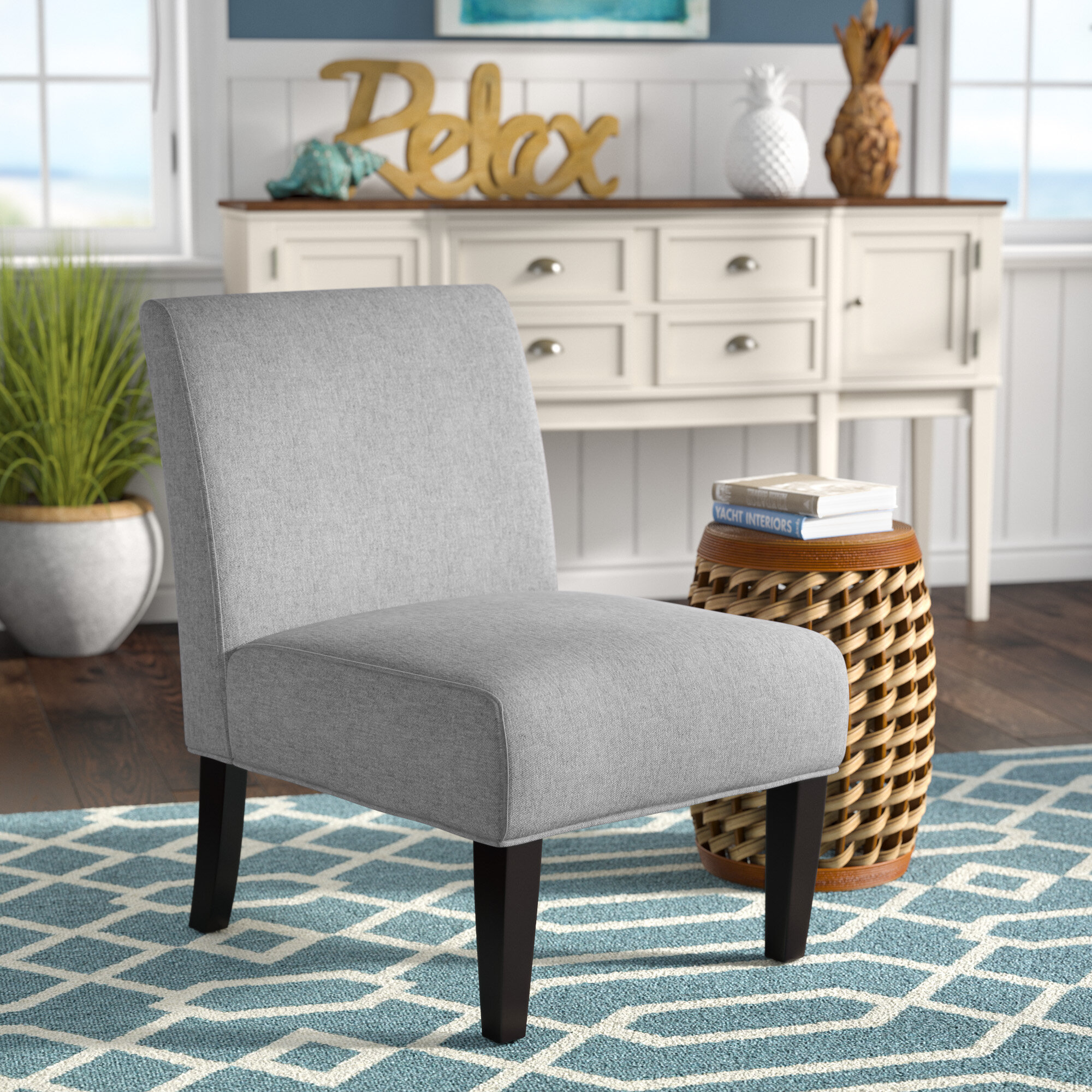 Slipper Chairs | Wayfair For Alush Accent Slipper Chairs (Set Of 2) (View 5 of 15)