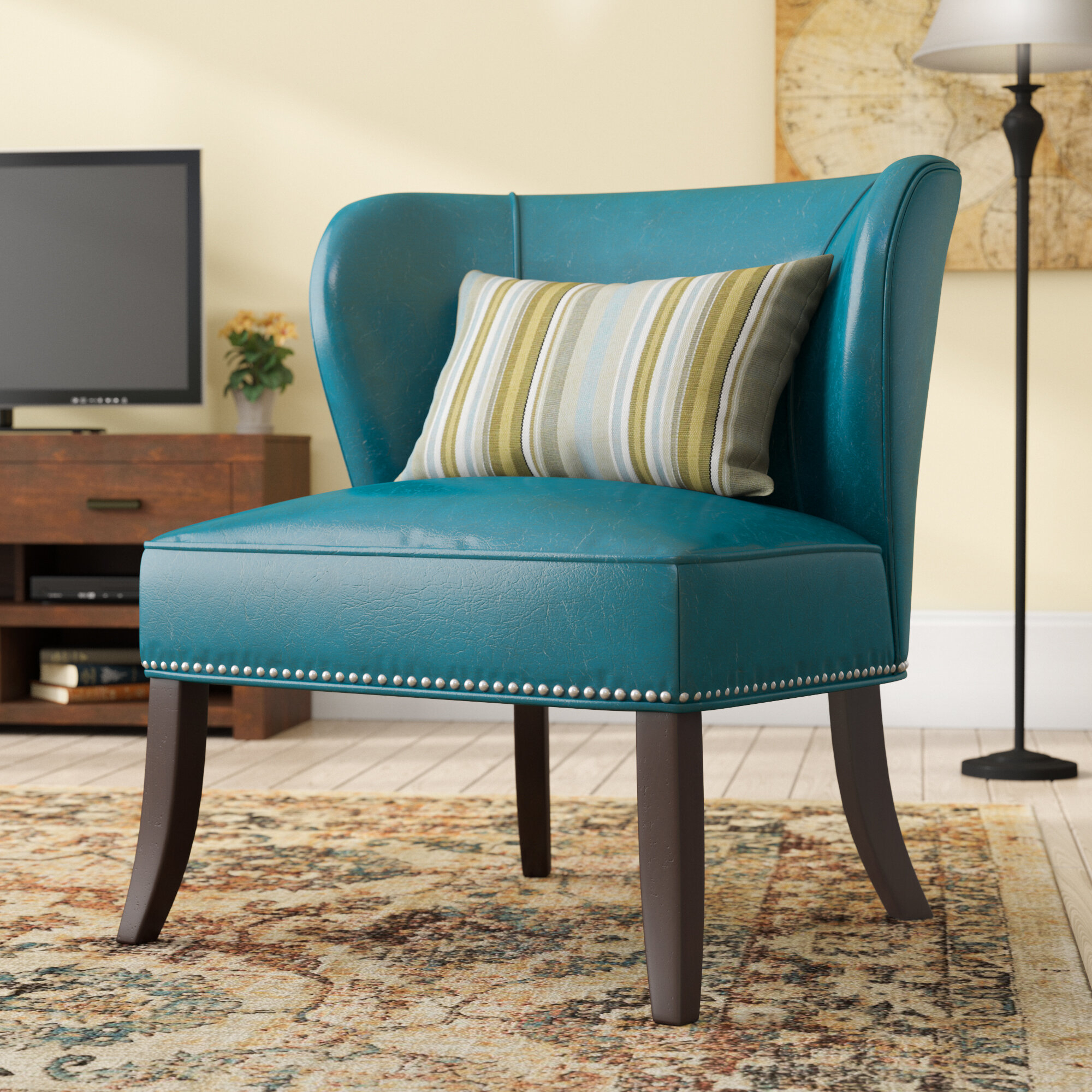 Slipper Chairs | Wayfair Pertaining To Alush Accent Slipper Chairs (Set Of 2) (View 8 of 15)