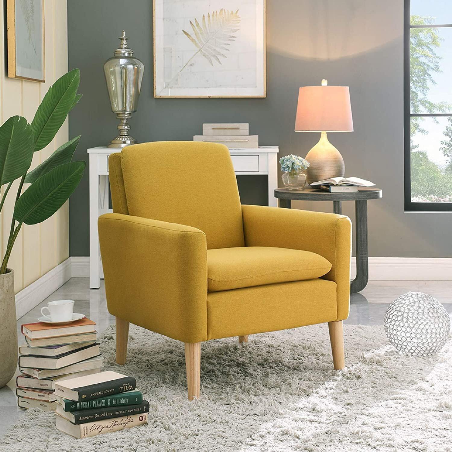 Small Accent Chairs Under $150 You'Ll Love In 2020 Inside Biggerstaff Polyester Blend Armchairs (View 2 of 15)