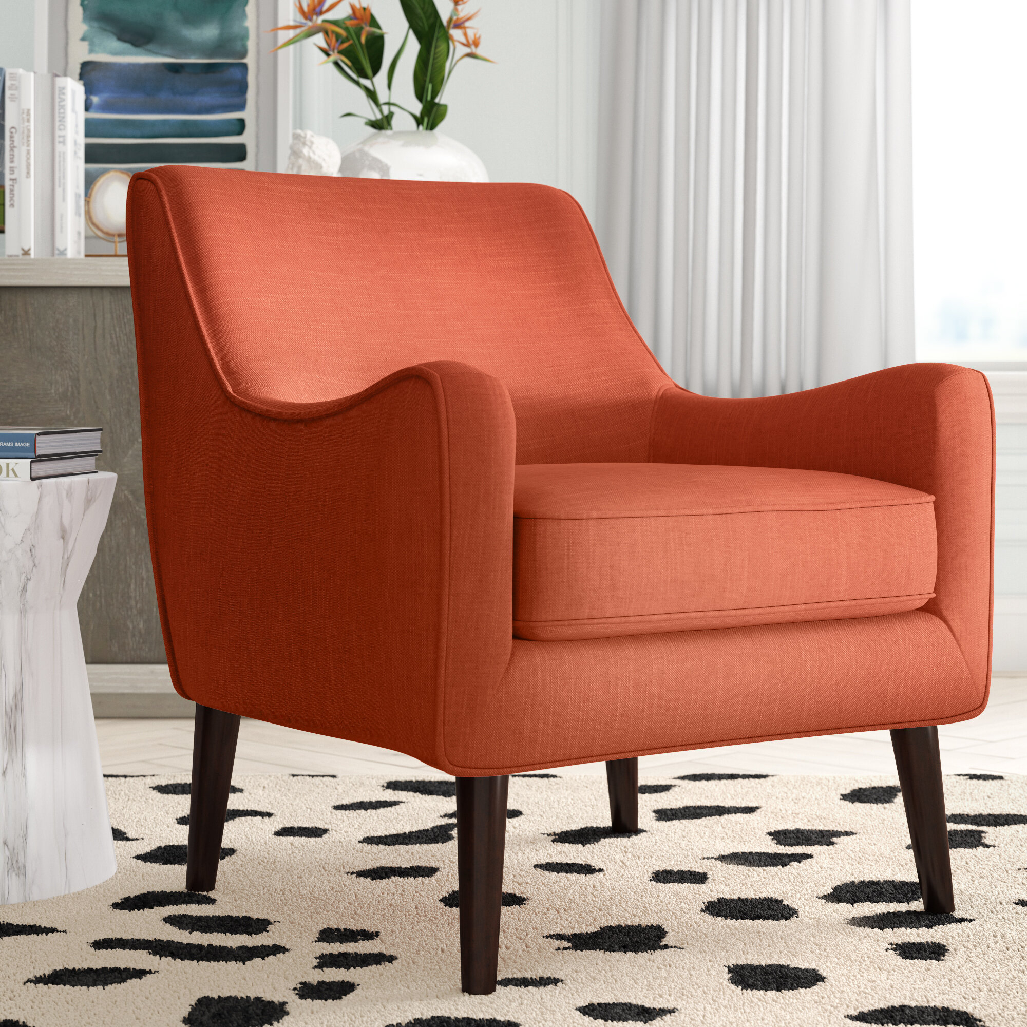Spraggins Armchair With Regard To Draco Armchairs (View 12 of 15)