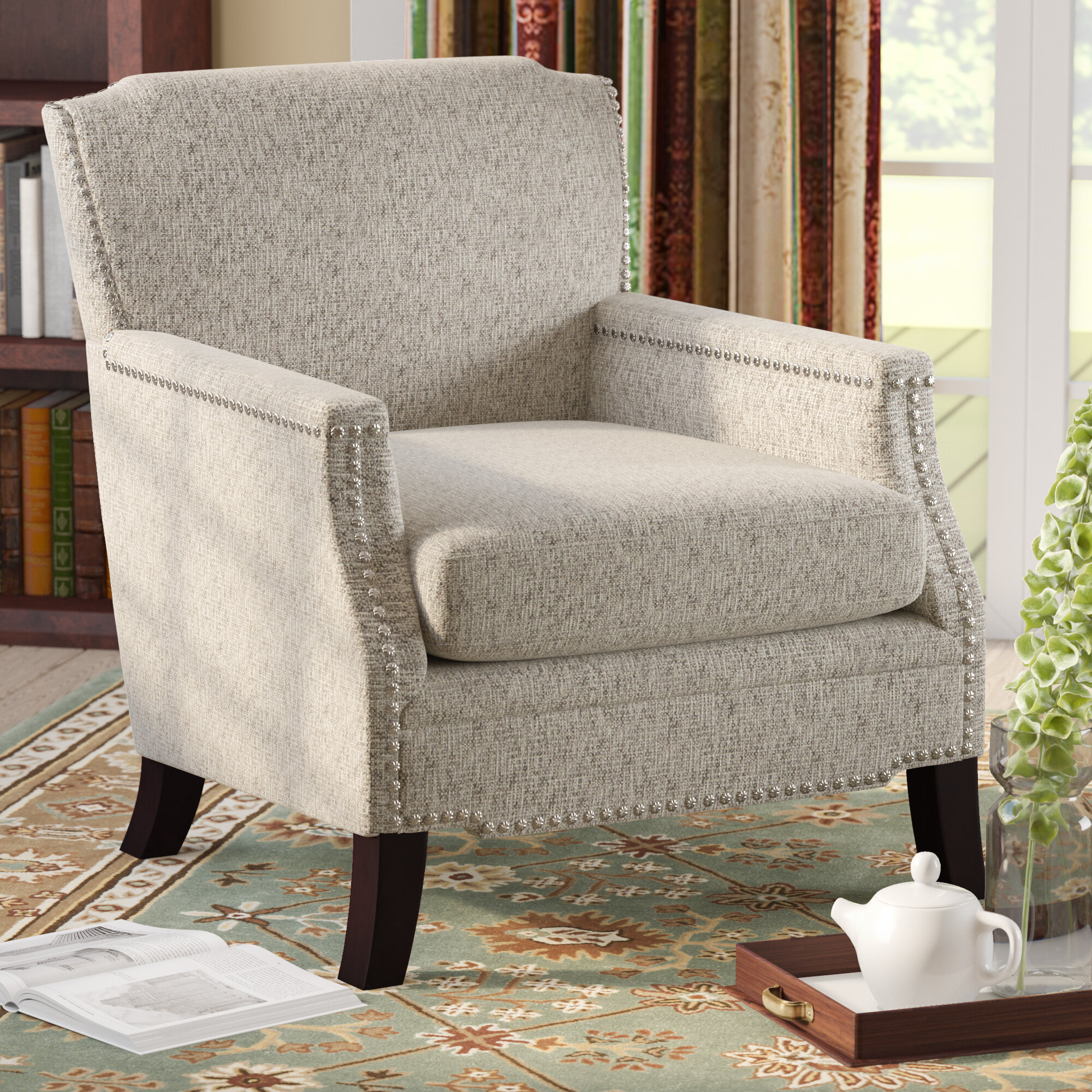 Sweeny Armchair Throughout Wainfleet Armchairs (Photo 5 of 15)
