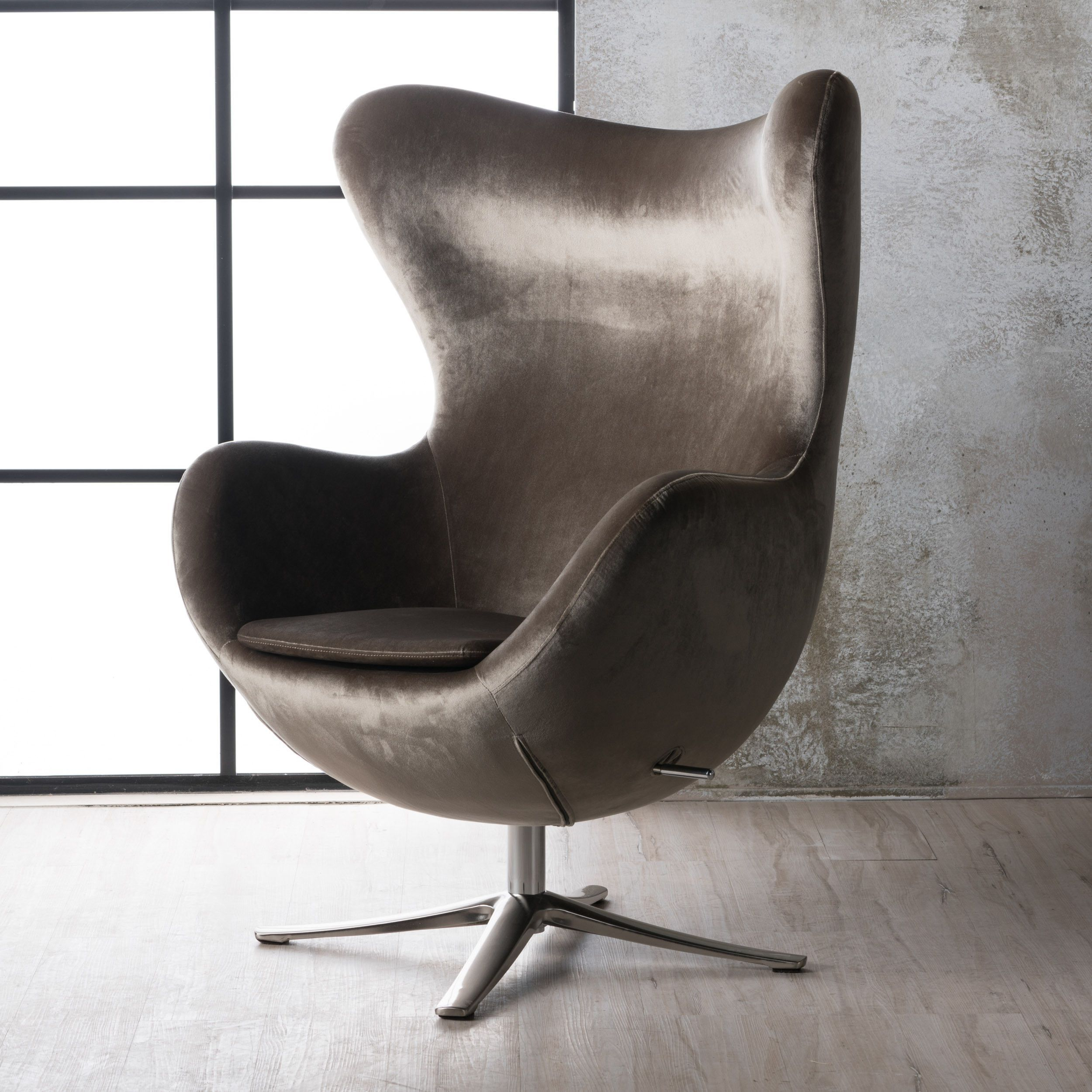 Swivel Armchairs For Sale With Vineland Polyester Swivel Armchairs (View 14 of 15)