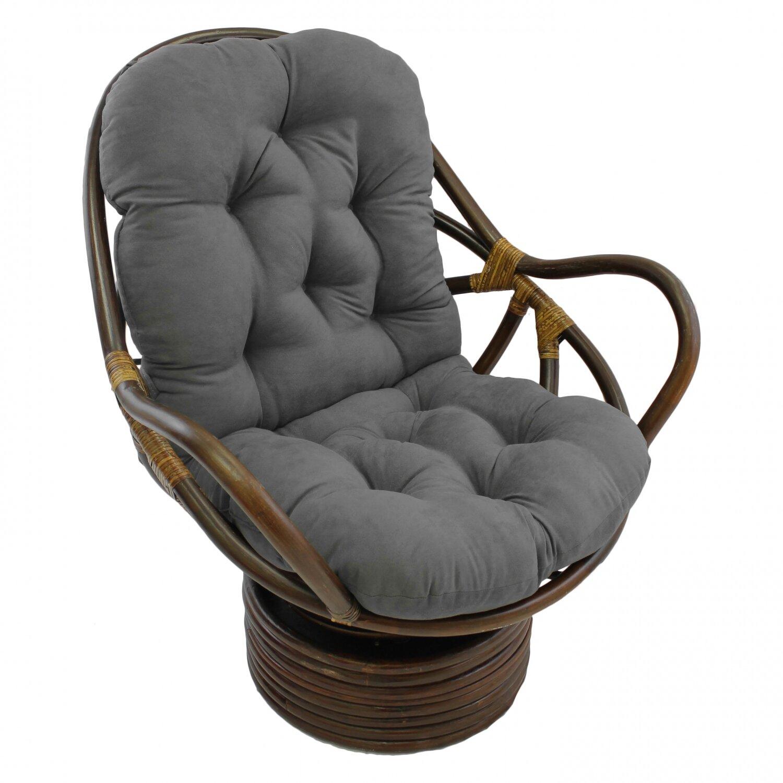 Swivel Papasan Chair Pertaining To Renay Papasan Chairs (View 14 of 15)