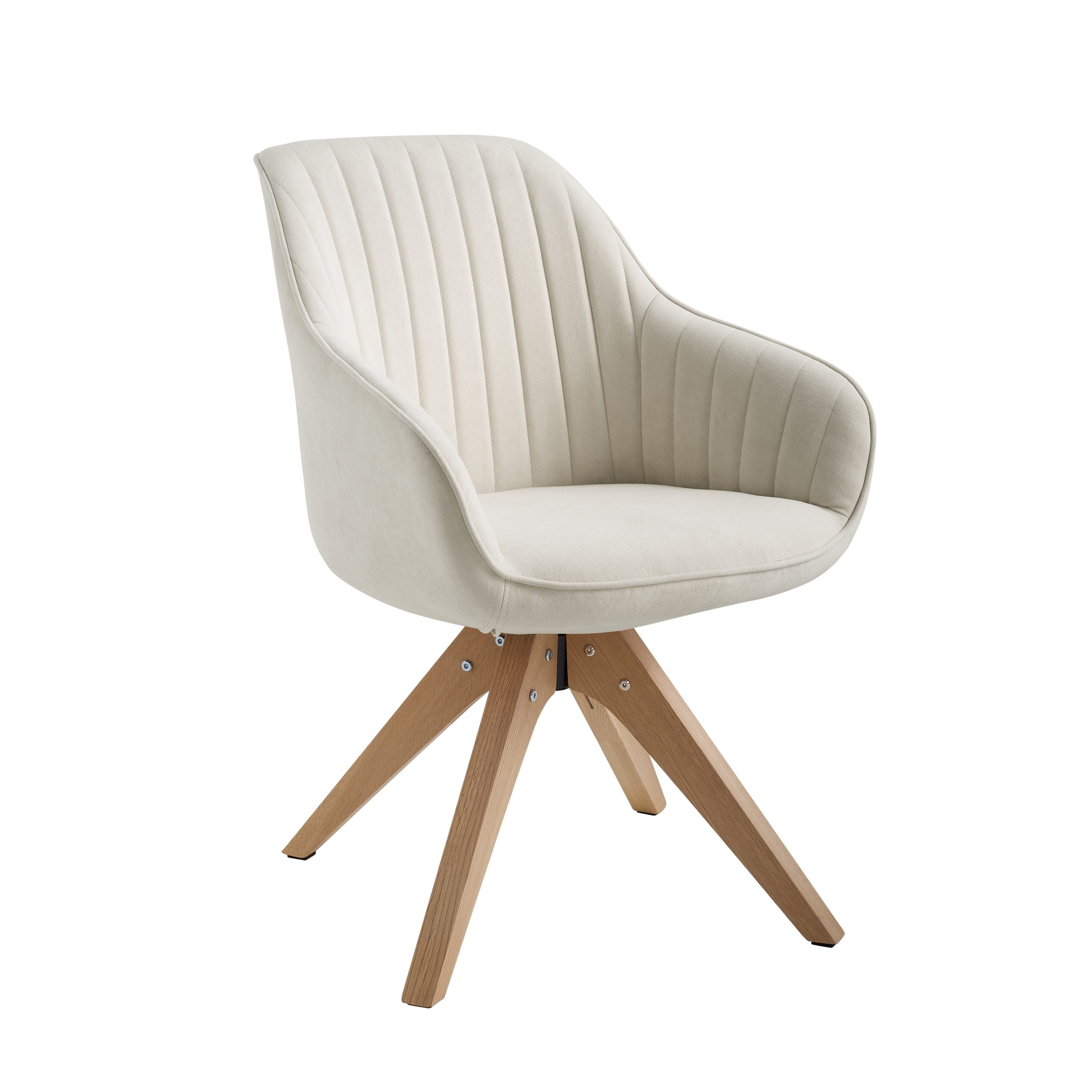 Swivel White Accent Chairs You'Ll Love In 2021 | Wayfair With Regard To Brister Swivel Side Chairs (View 5 of 15)