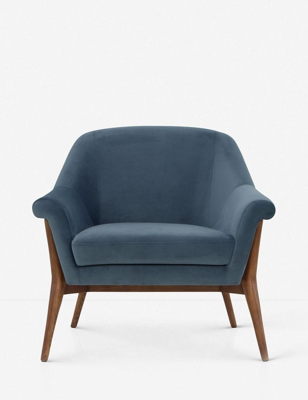 Taitum Accent Chair, Blue | Accent Chairs, Blue Accent With Regard To Indianola Modern Barrel Chairs (View 8 of 15)