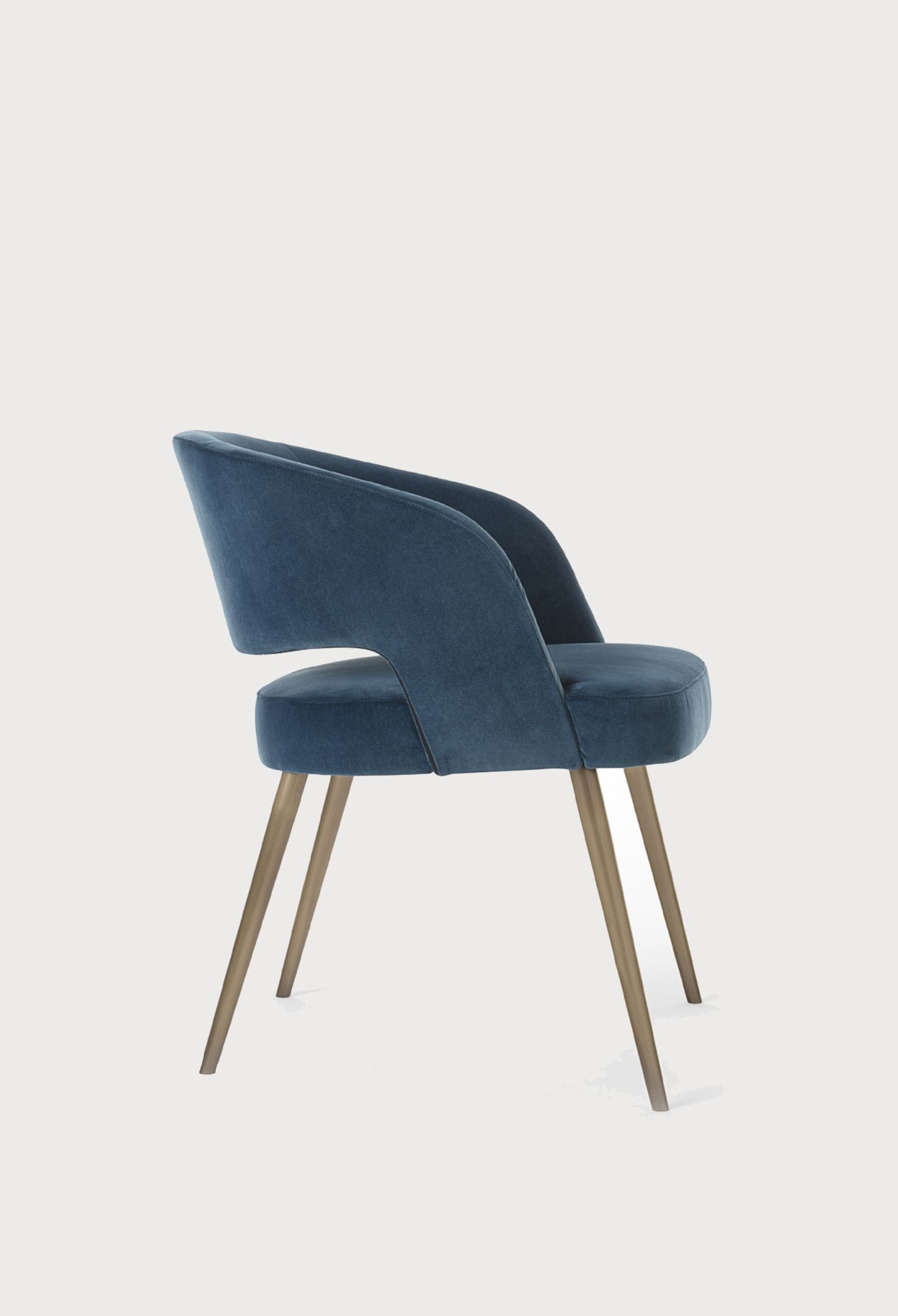 Thalis Dining Armchair, Emmemobli | Dining Arm Chair Pertaining To Cohutta Armchairs (View 9 of 15)