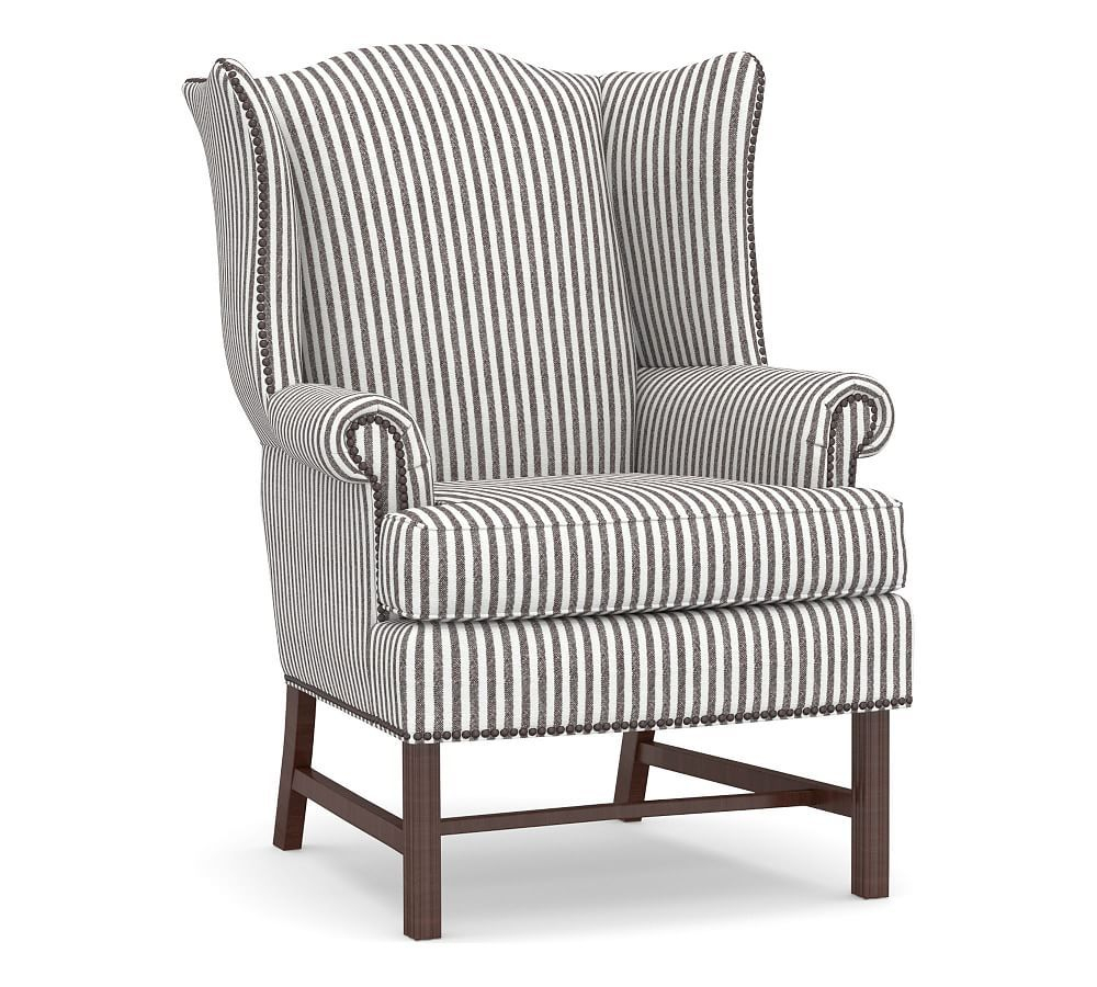 Thatcher Upholstered Armchair, Polyester Wrapped Cushions With Leia Polyester Armchairs (View 5 of 15)