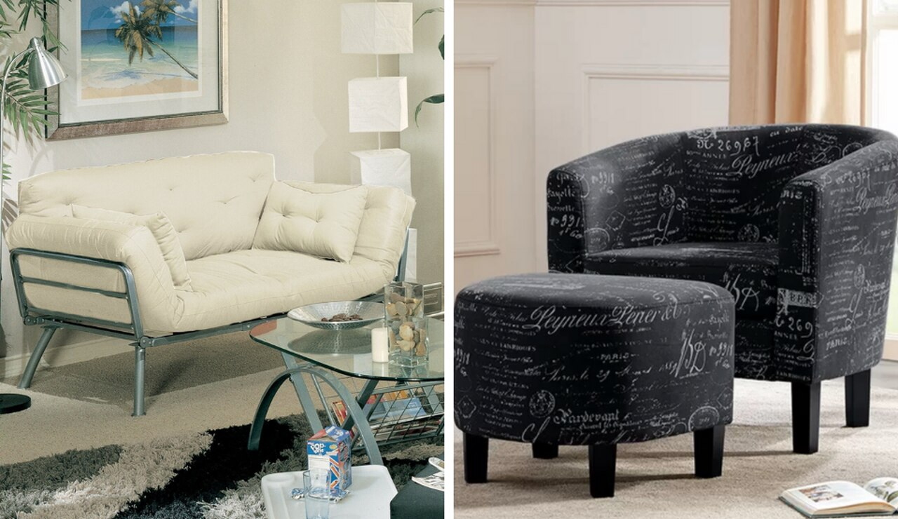 The 25 Best Deals From Wayfair'S Clearance Sale – Nj Throughout Louisiana Barrel Chair And Ottoman Sets (View 15 of 15)