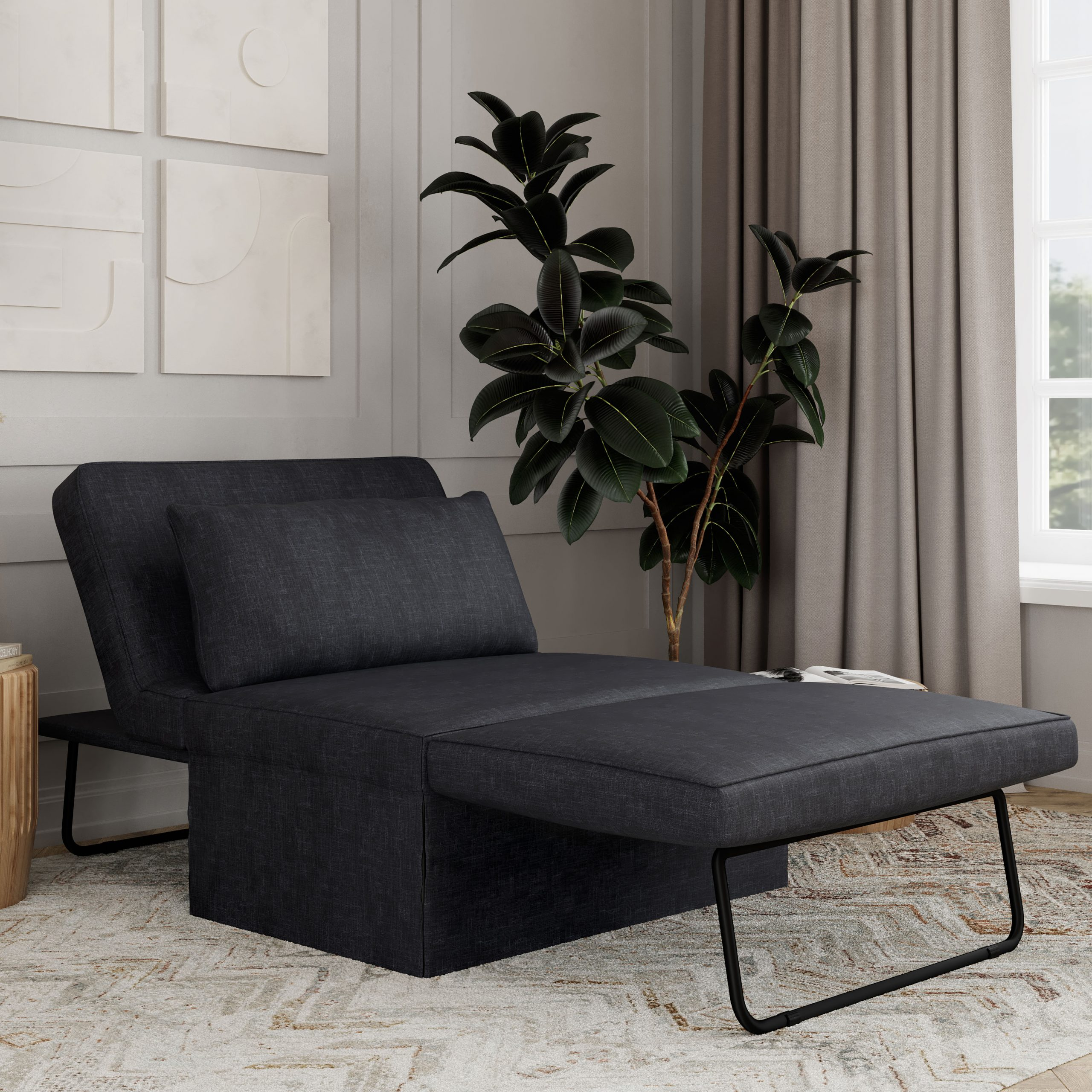 The Best Affordable Sleeper Chairs And Ottomans | Apartment With Regard To New London Convertible Chairs (View 12 of 15)