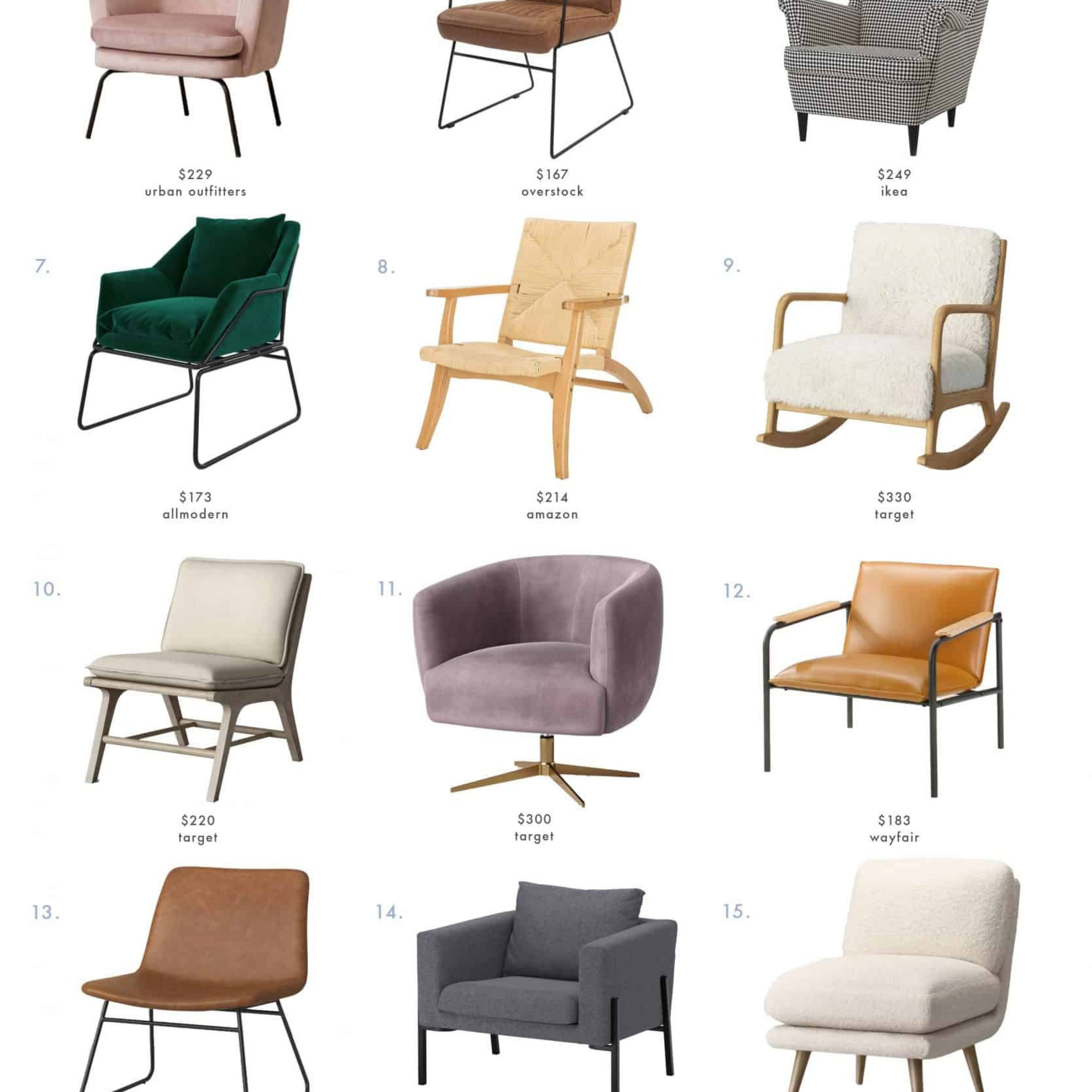 The Ultimate Budget Friendly Living Room Furniture Roundup Regarding Aalivia Slipper Chairs (View 8 of 15)