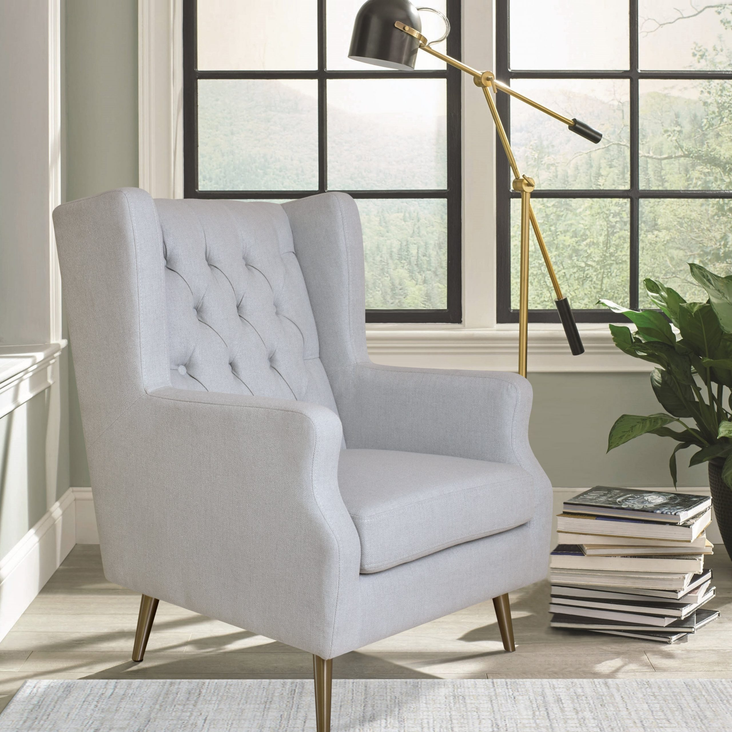 Thomas Wingback Chair With Busti Wingback Chairs (View 15 of 15)