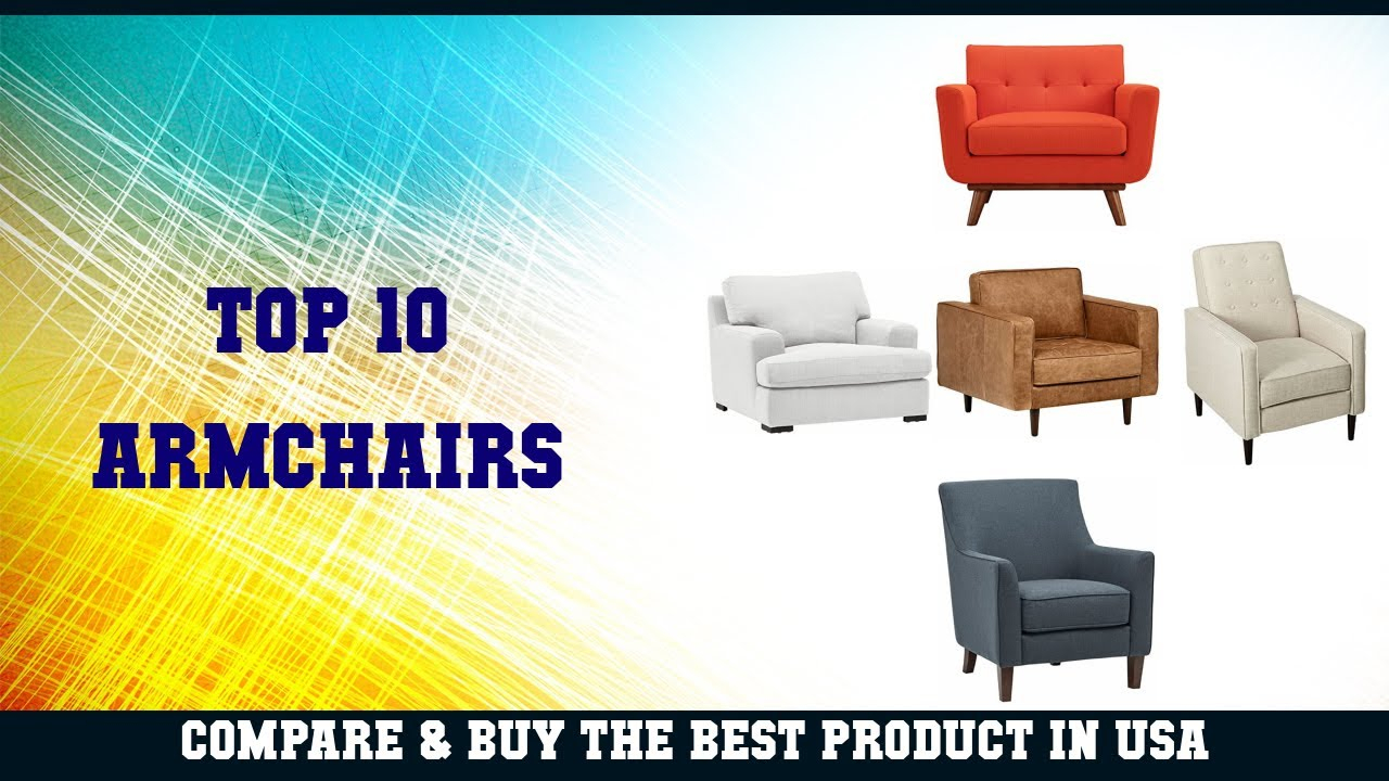Top 10 Armchairs To Buy In Usa | Price & Review Within Draco Armchairs (View 13 of 15)