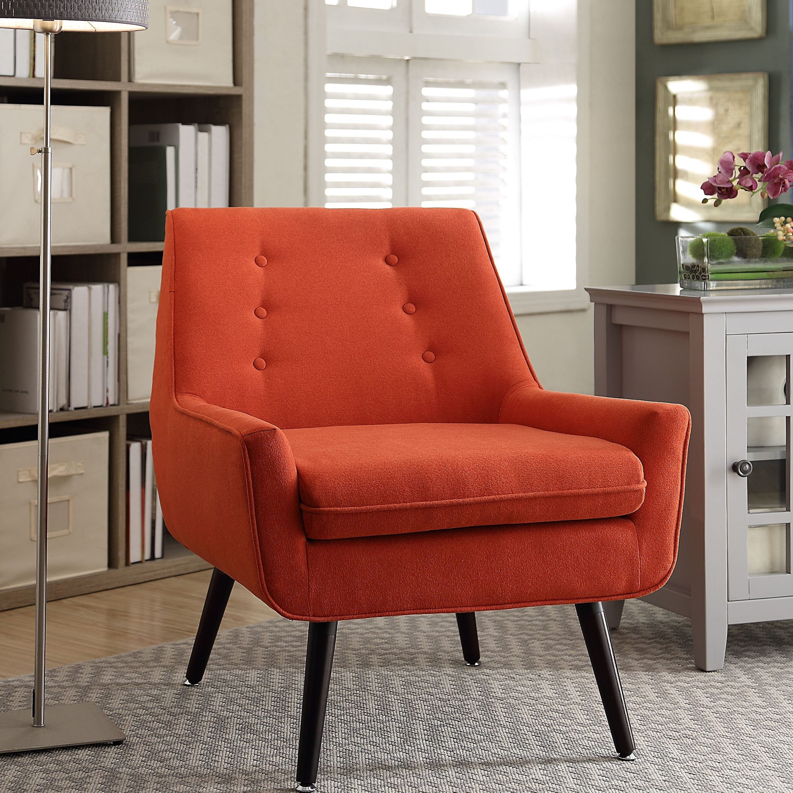 Trelis Chair | Ashley Furniture Homestore | Side Chairs With Ronald Polyester Blend Armchairs (View 5 of 15)