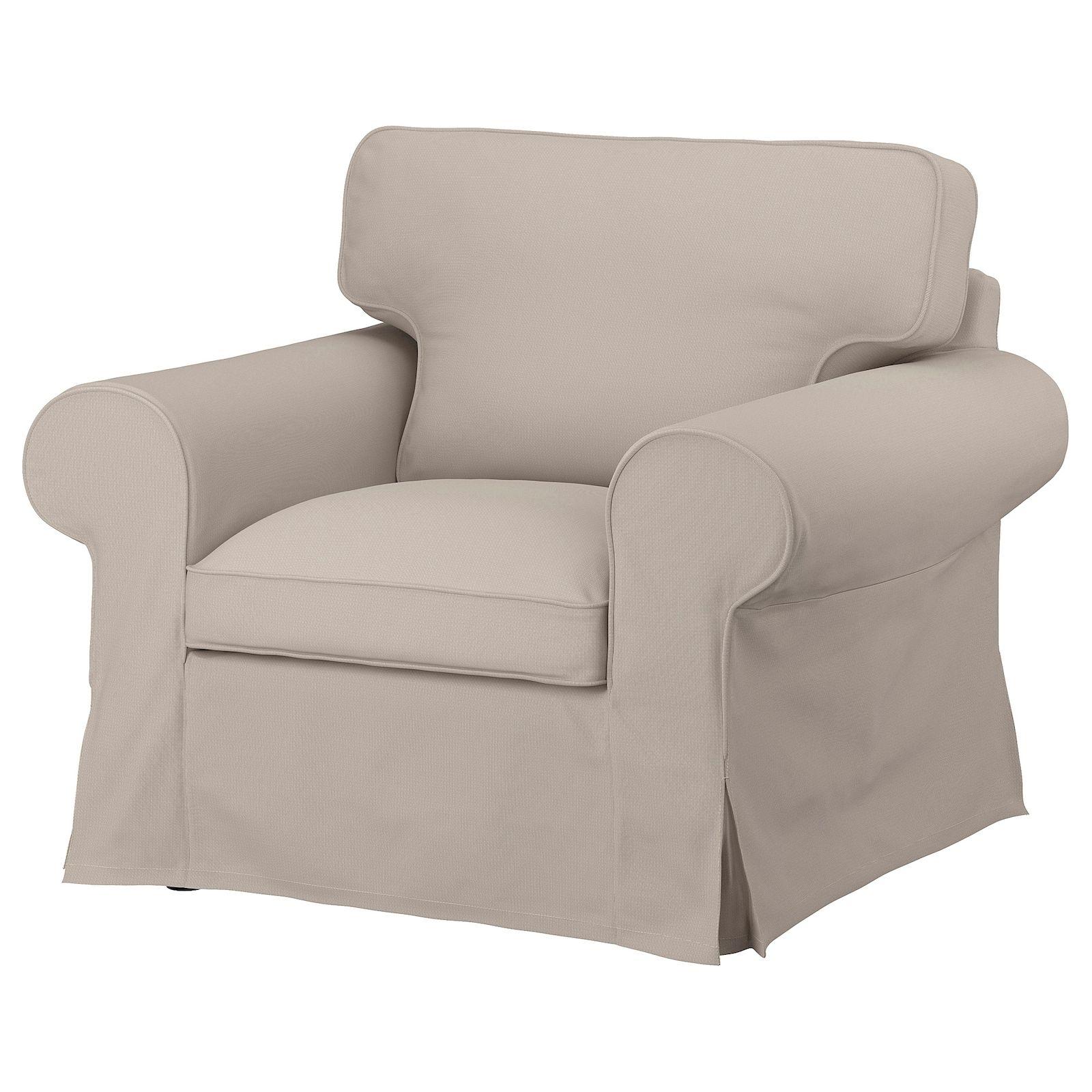 Uppland Armchair – Totebo Light Beige – Ikea   Armchair For Zalina Swivel Armchairs (View 7 of 15)