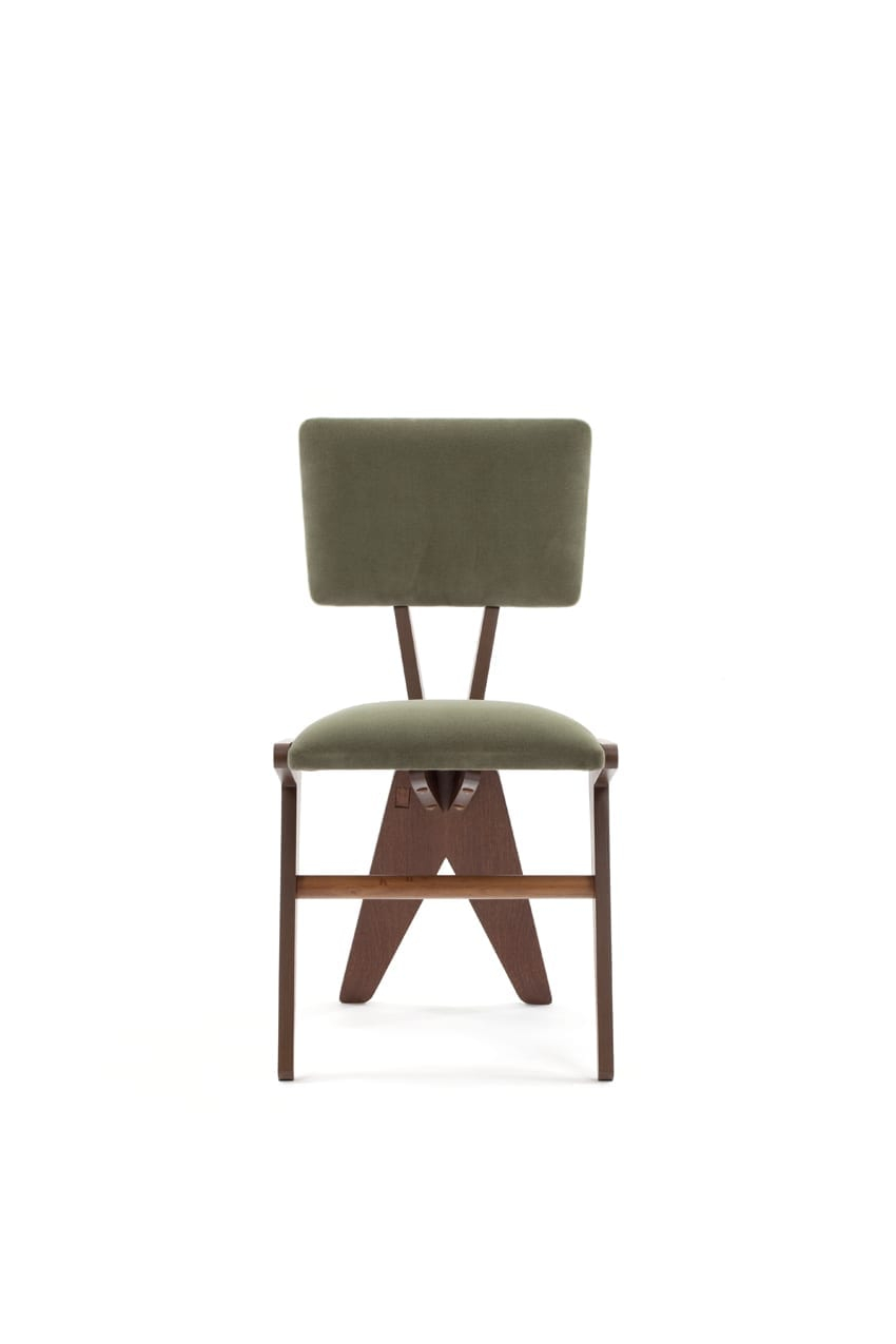V Dining Chair Inside Chiles Linen Side Chairs (View 7 of 15)