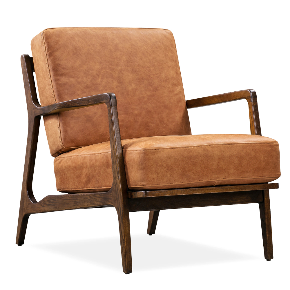 Verity Leather Lounge Chair | Leather Lounge Chair, Leather In Jarin Faux Leather Armchairs (View 15 of 15)