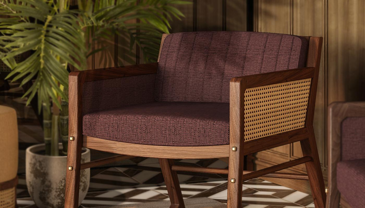 William Armchair Wood Tailors Club Riveting Craftsmanship In Reynolds Armchairs (View 14 of 15)