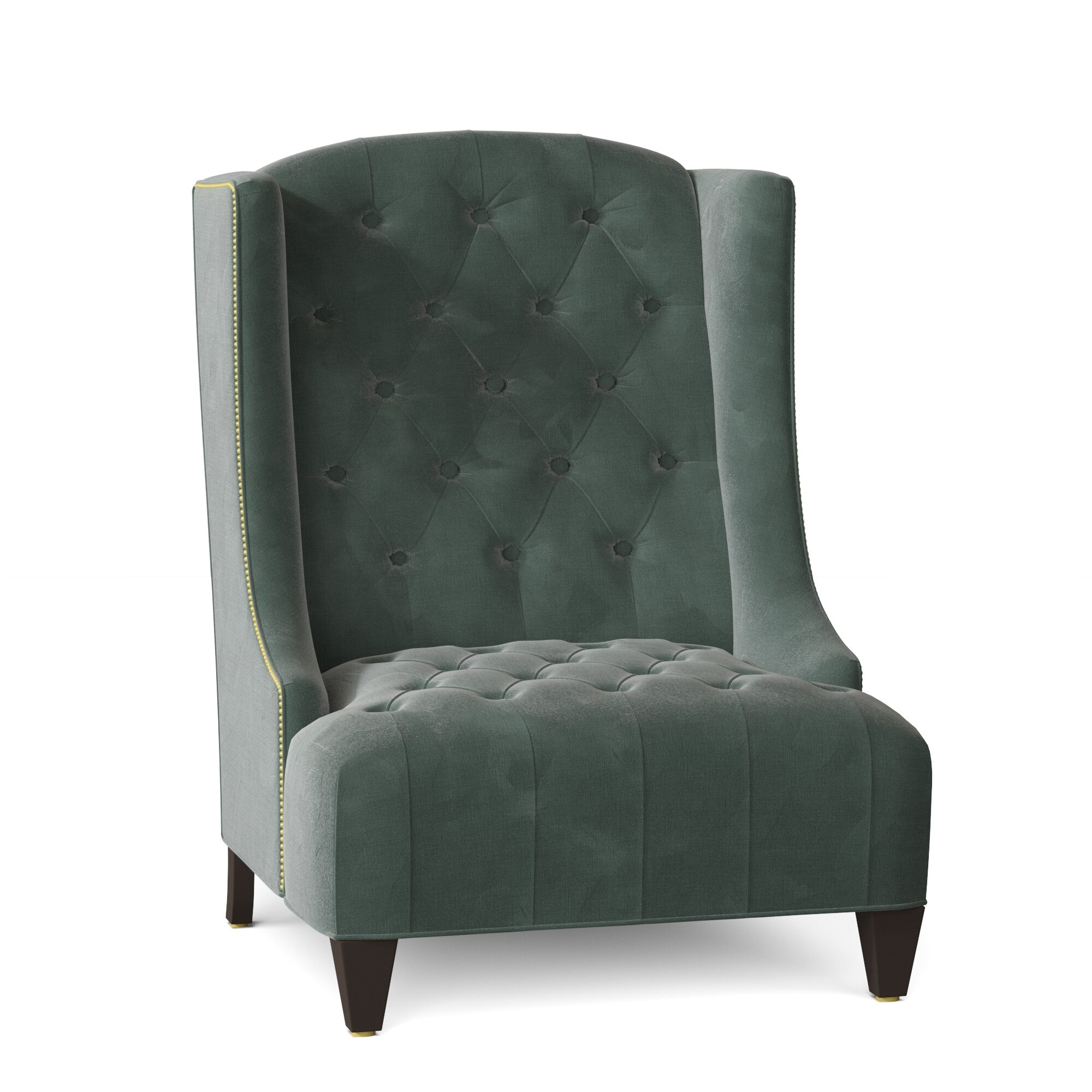 Wingback Accent Chairs You'Ll Love In 2021 | Wayfair (View 11 of 15)