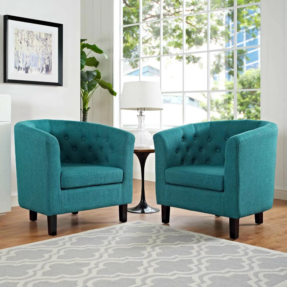 """Ziaa 21"""" Armchair   Upholstered Fabric, Living Room Sets Regarding Ziaa Armchairs (Set Of 2) (View 3 of 15)"""