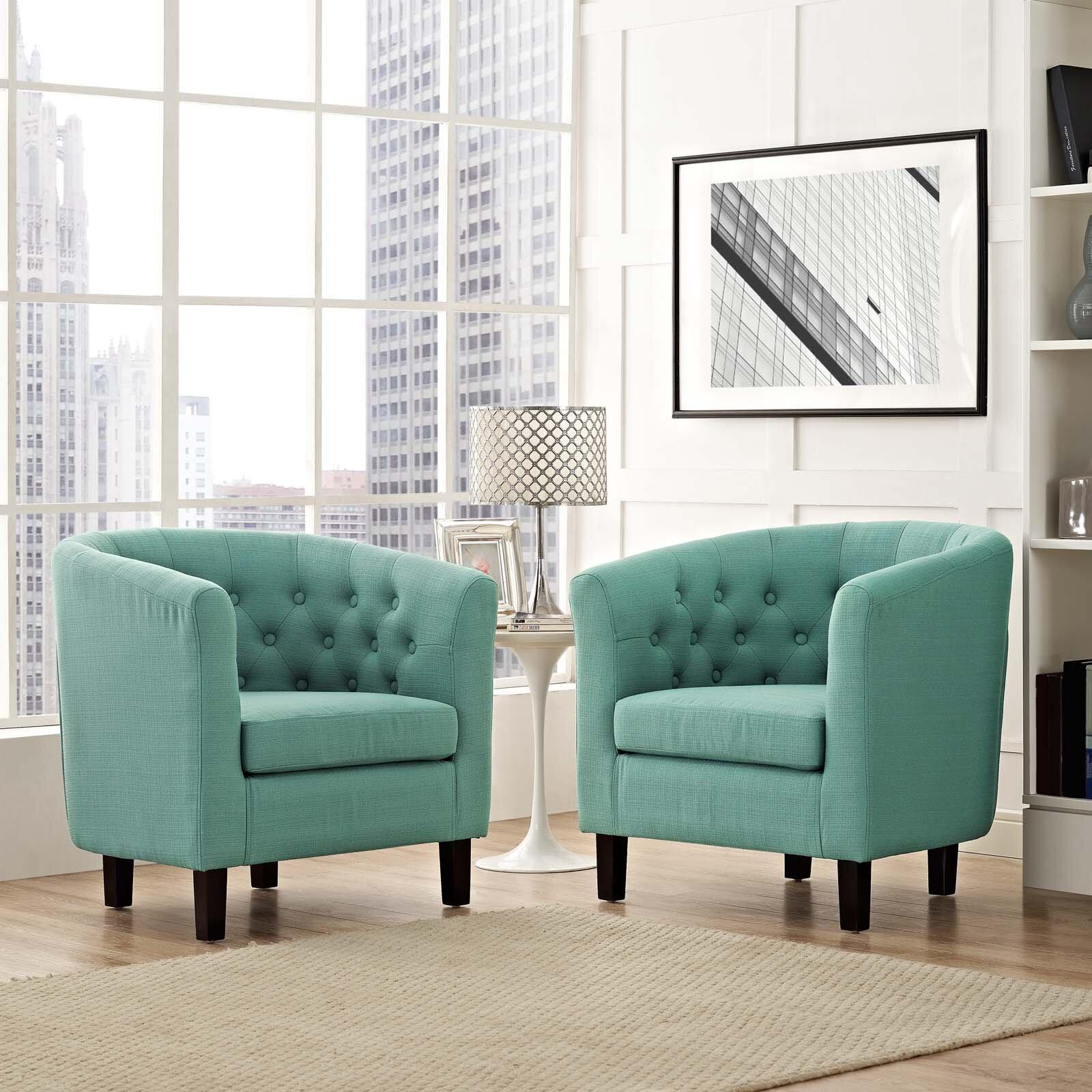 """Zipcode Design™ Ziaa 21"""" Armchair & Reviews   Wayfair (View 5 of 15)"""